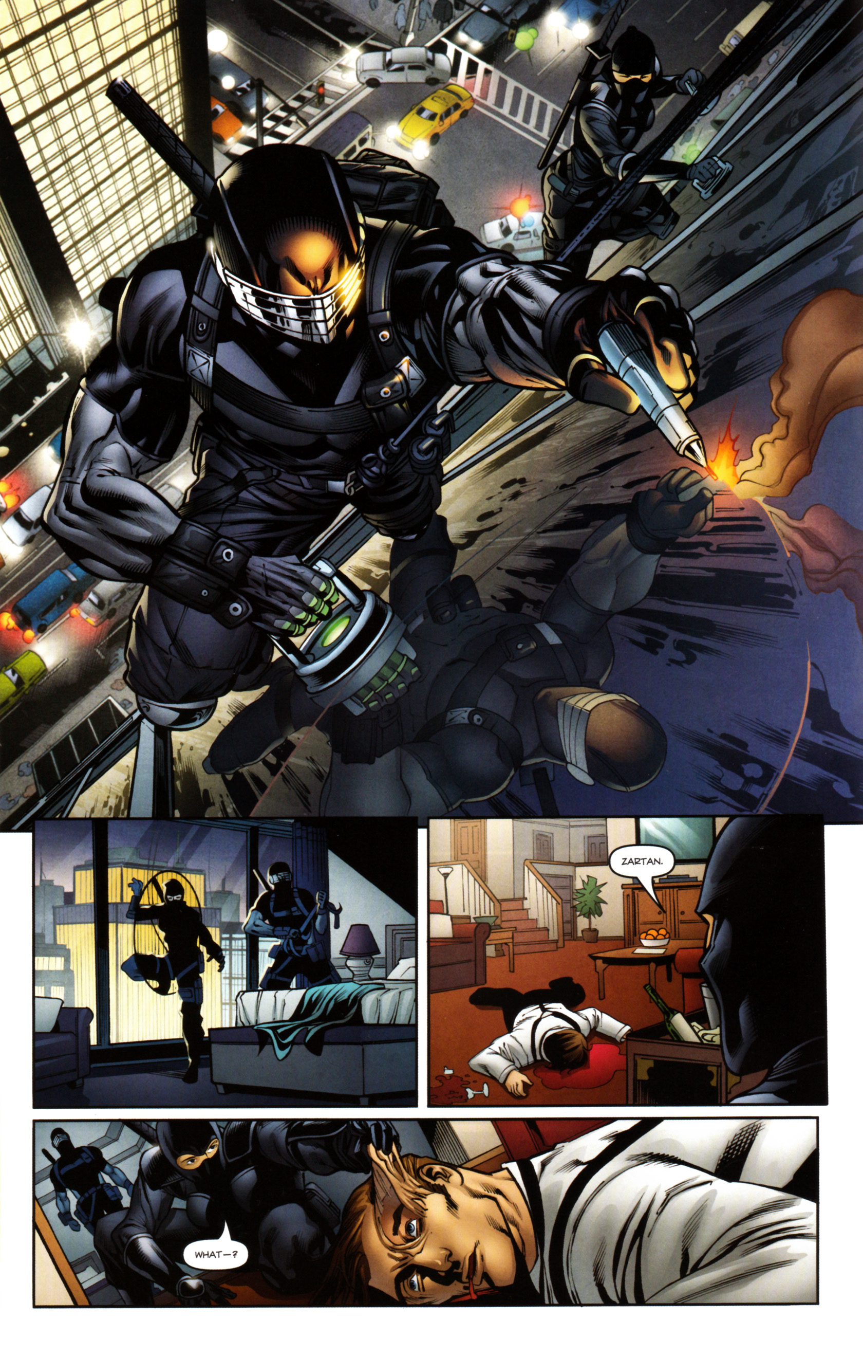 Read online Snake Eyes and Storm Shadow comic -  Issue #14 - 17