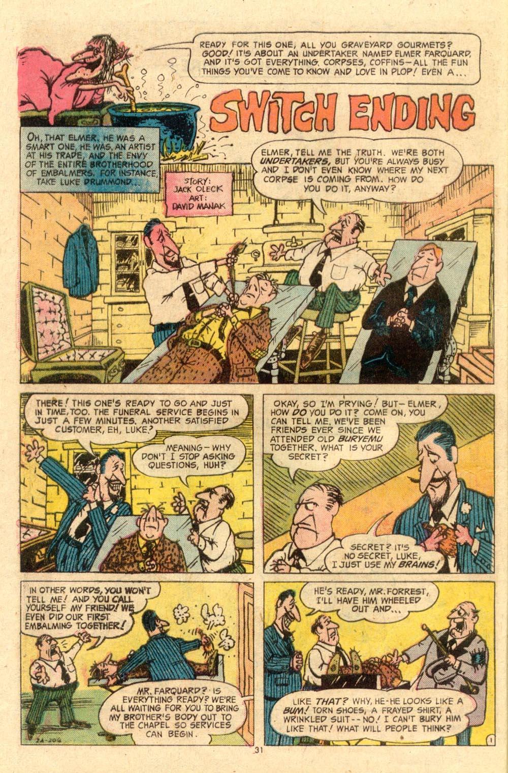 Read online Plop! comic -  Issue #7 - 32