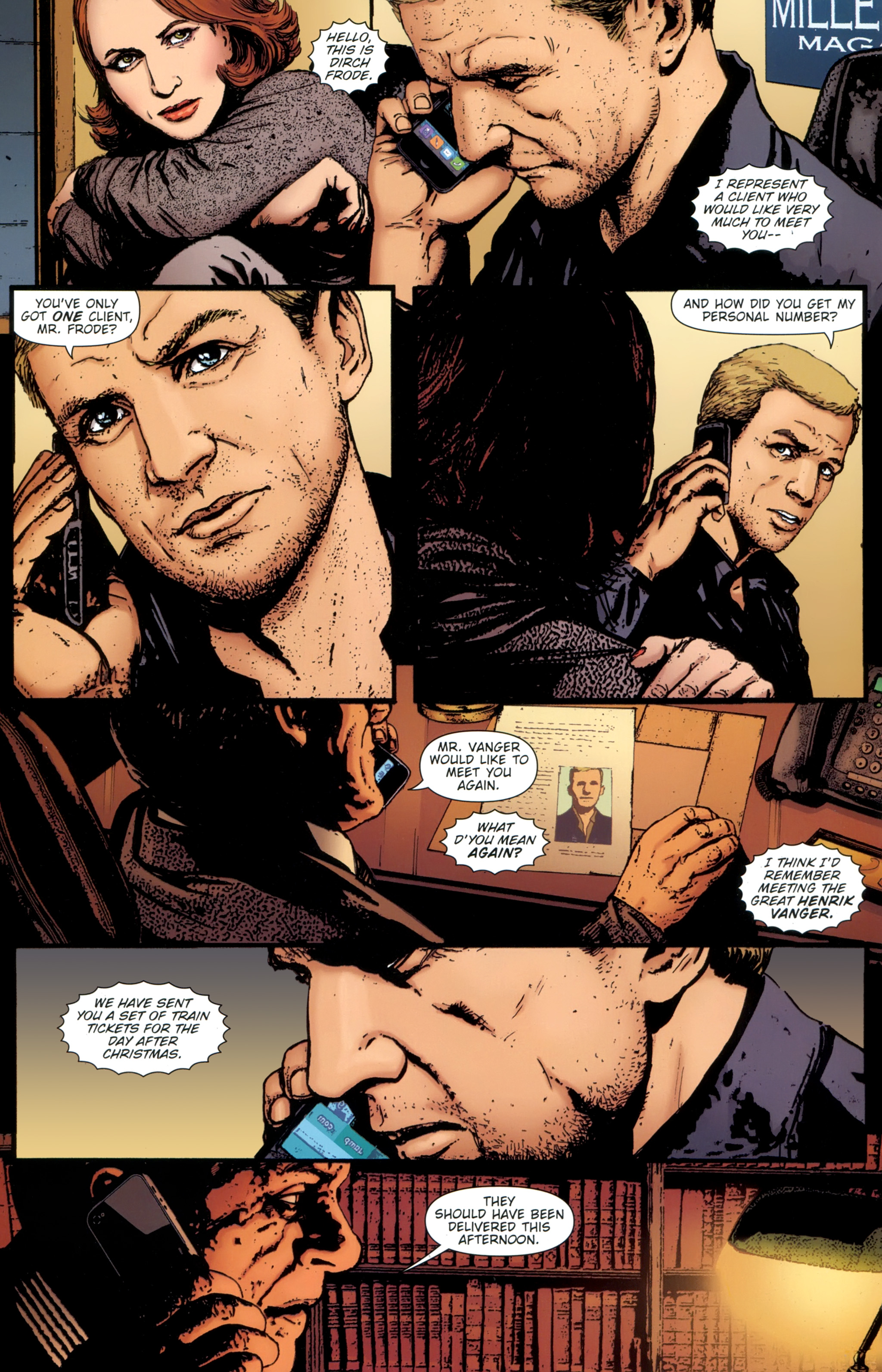 Read online The Girl With the Dragon Tattoo comic -  Issue # TPB 1 - 27