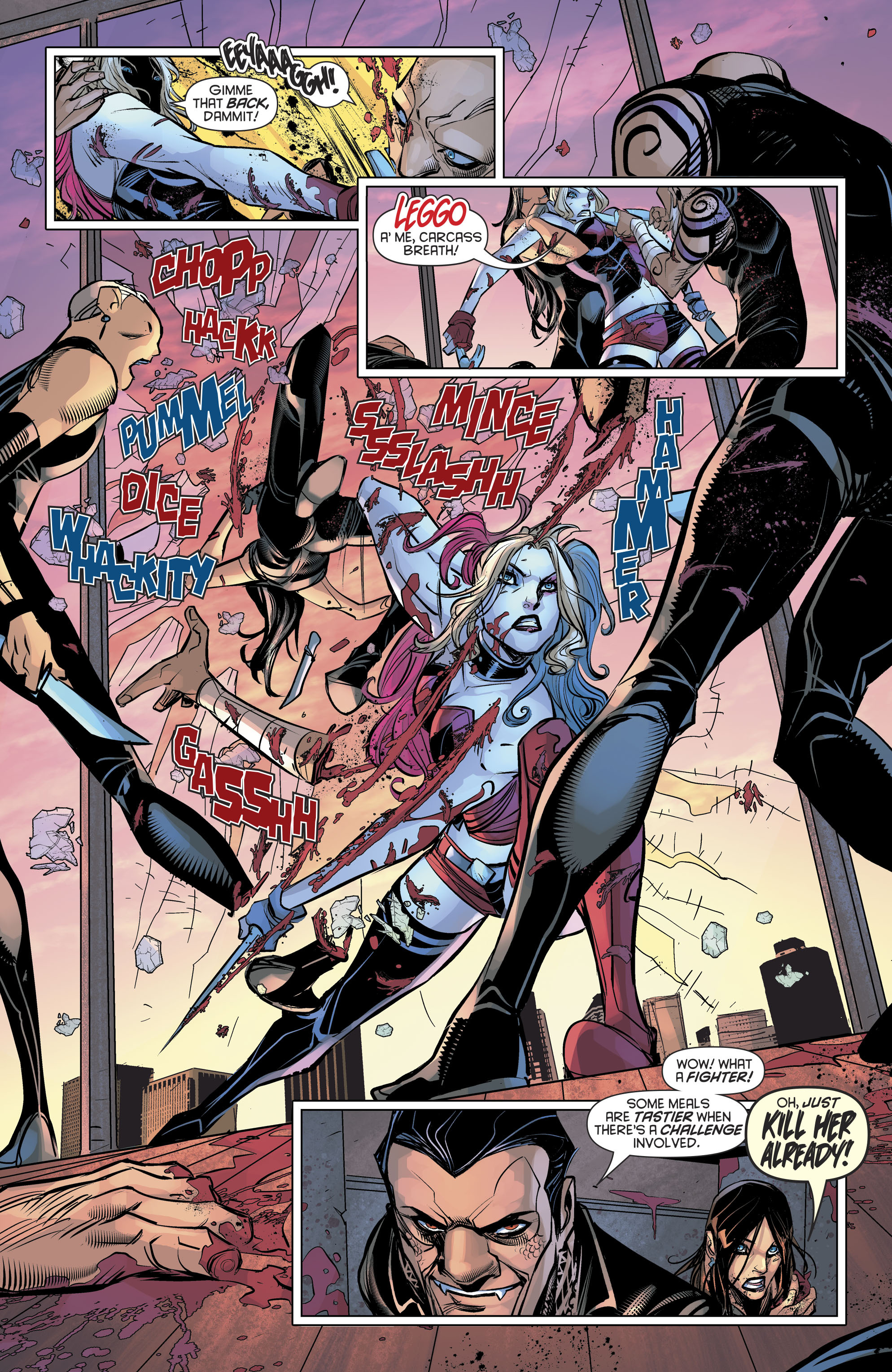 Read online Harley Quinn (2016) comic -  Issue #19 - 12