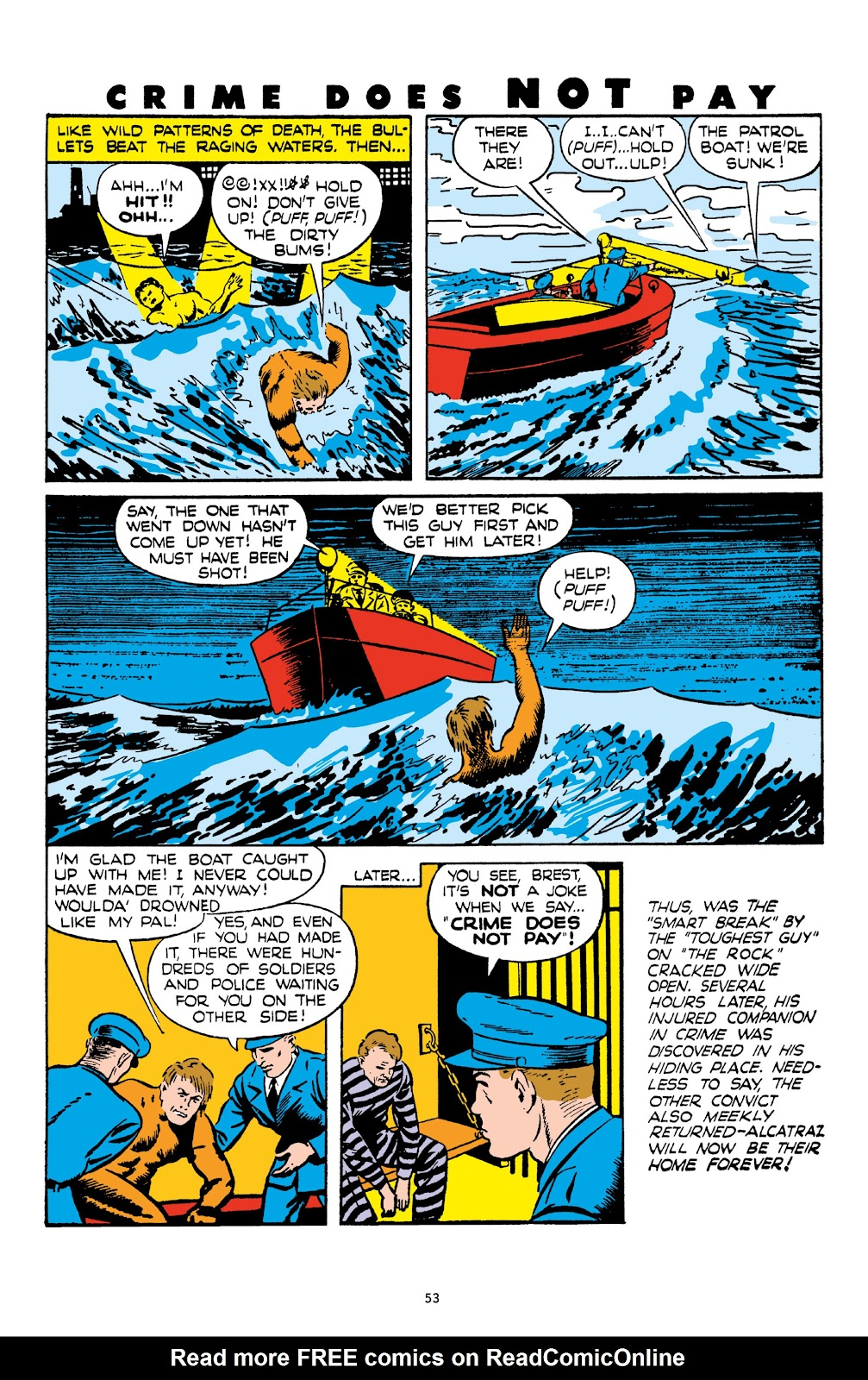 Read online Crime Does Not Pay Archives comic -  Issue # TPB 4 (Part 1) - 53