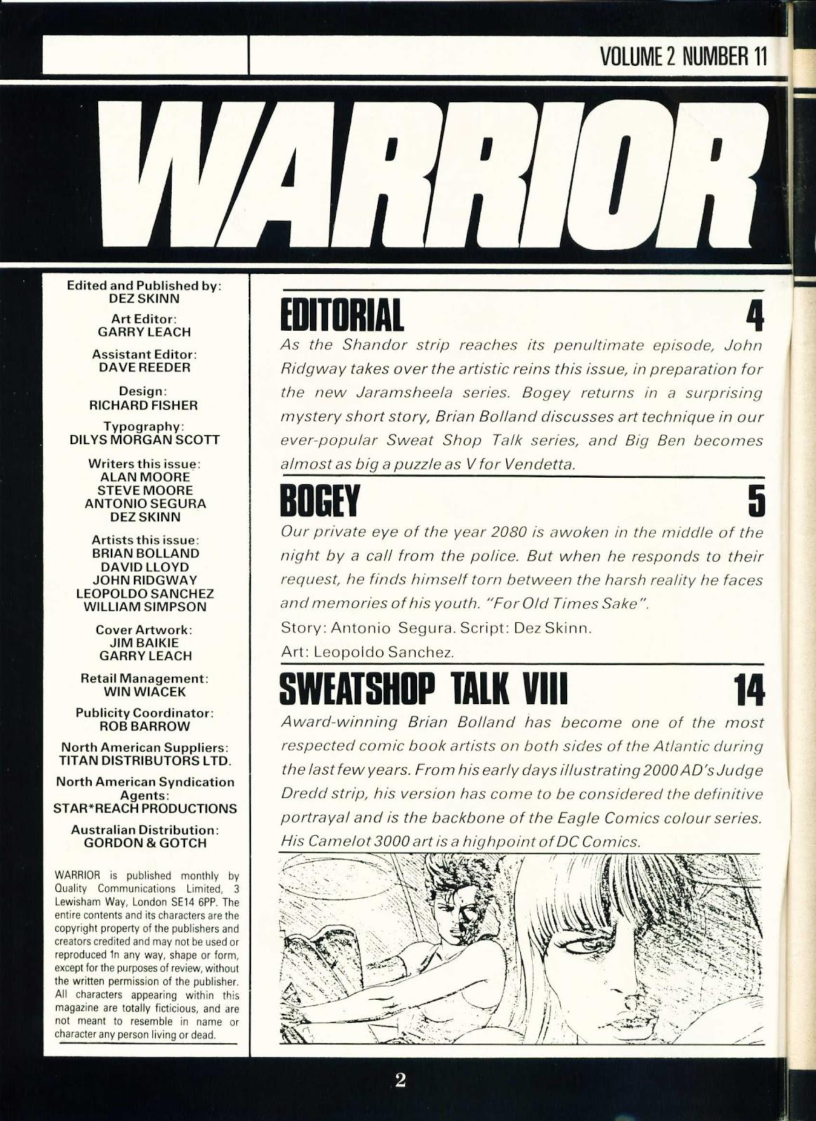 Warrior Issue #23 #24 - English 2