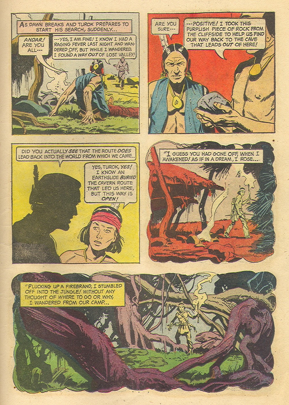 Read online Turok, Son of Stone comic -  Issue #35 - 11