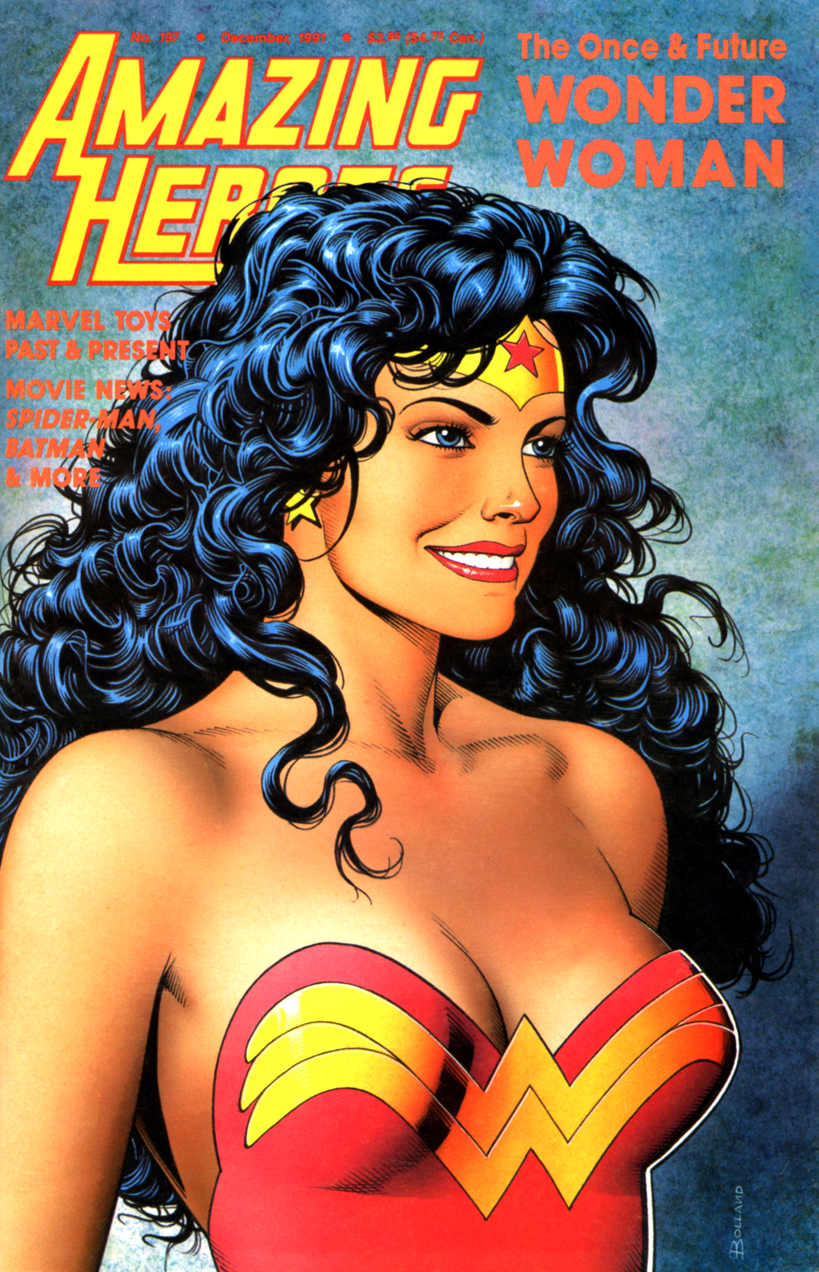 Read online Amazing Heroes comic -  Issue #197 - 1