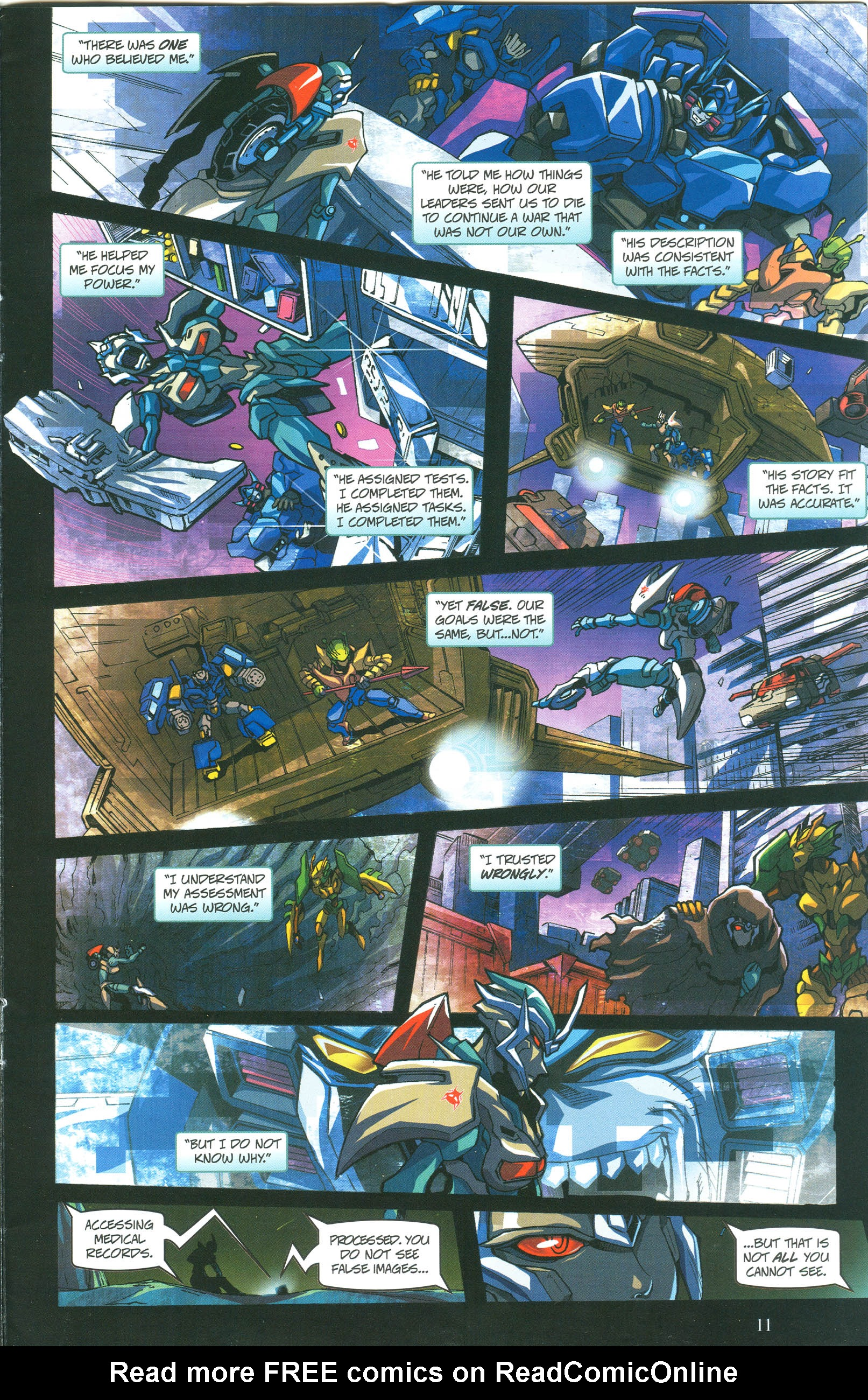Read online Transformers: Collectors' Club comic -  Issue #57 - 11