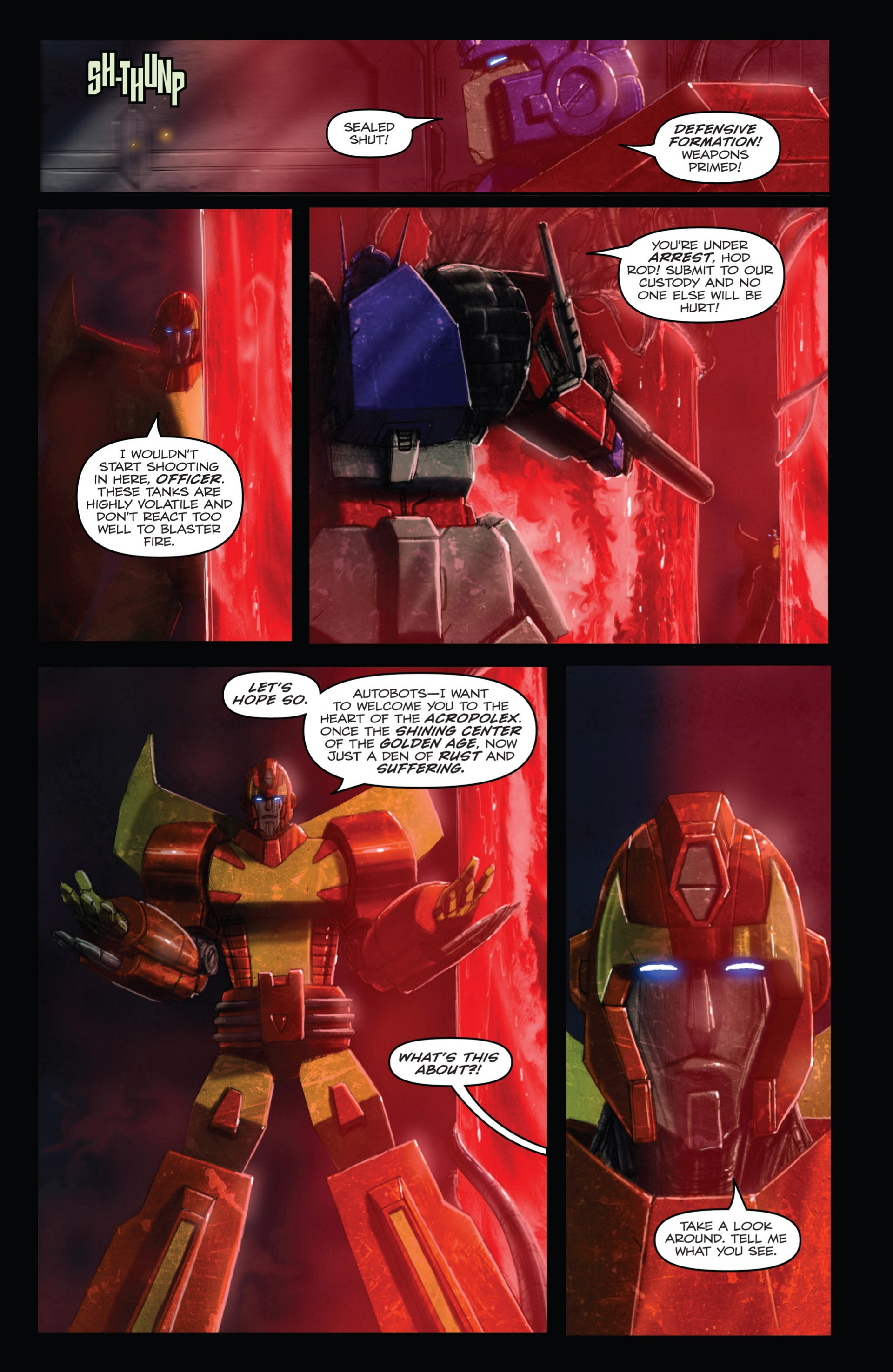 Read online Transformers: Autocracy comic -  Issue # Full - 49