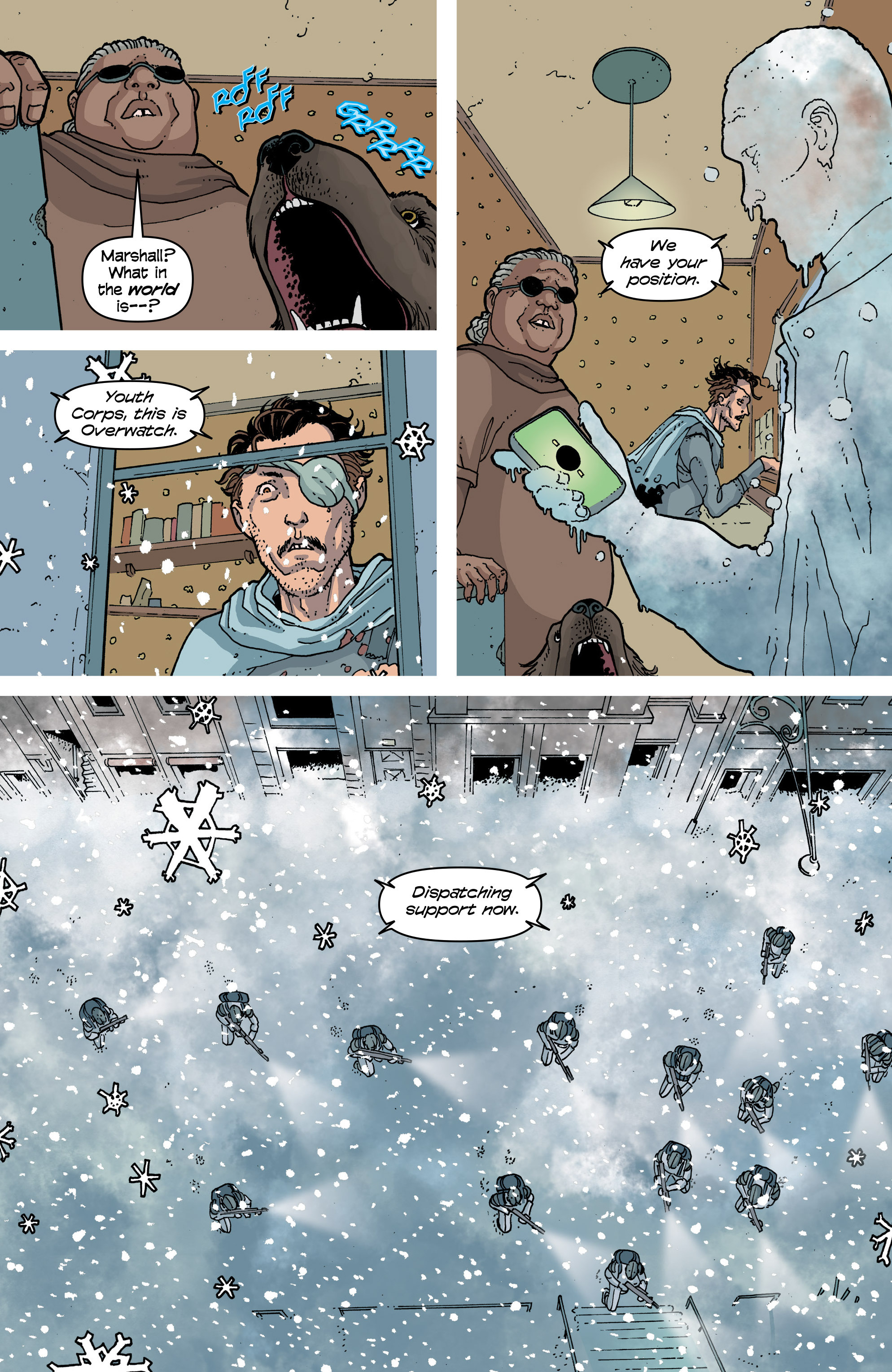 Read online Snowfall comic -  Issue #6 - 20