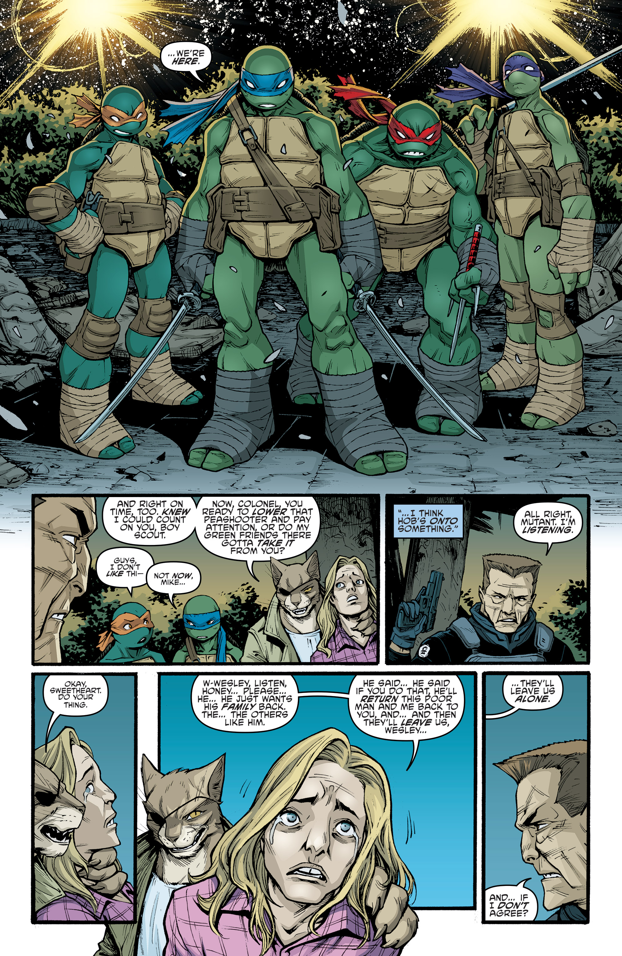Read online Teenage Mutant Ninja Turtles (2011) comic -  Issue #70 - 10