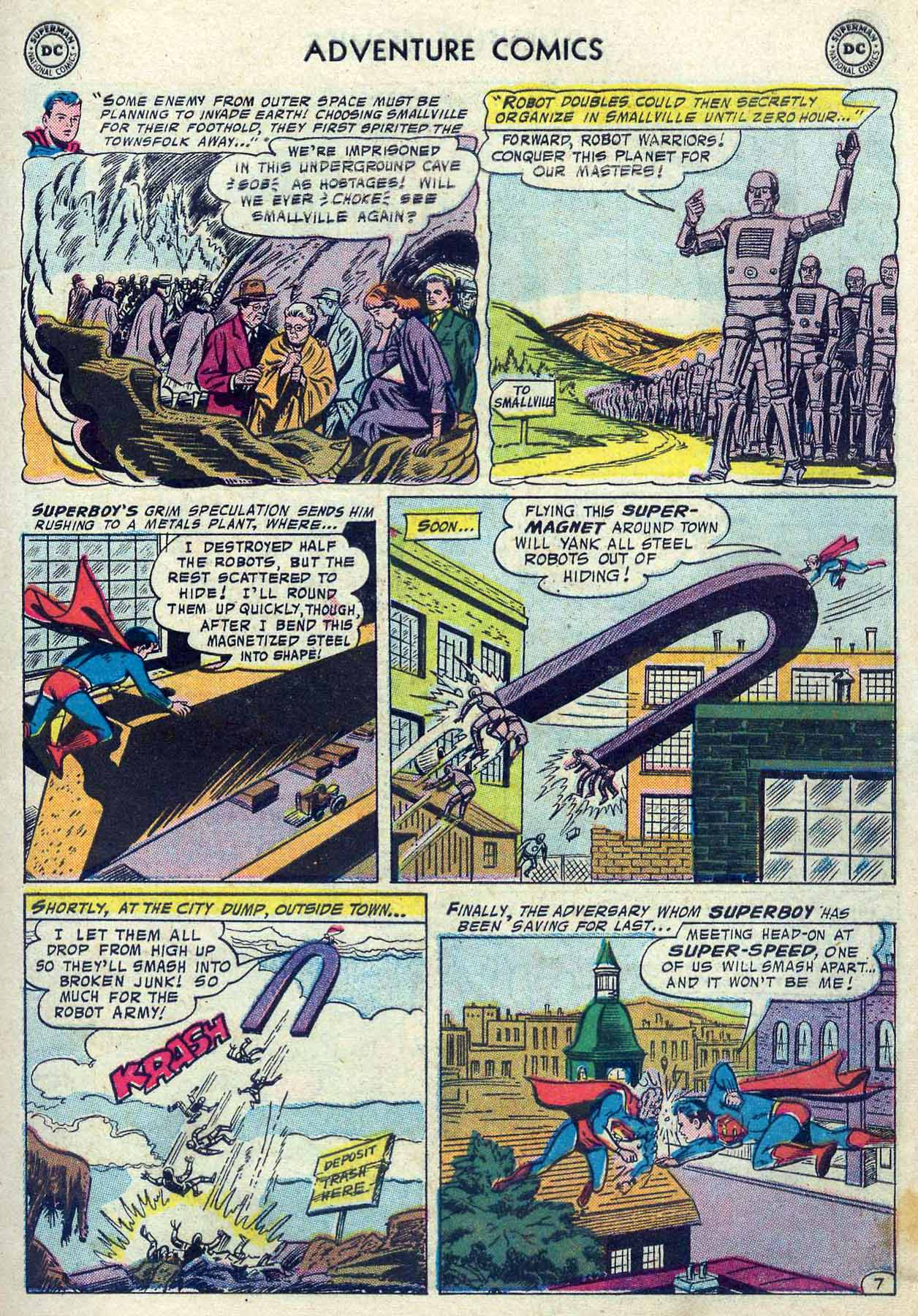 Read online Adventure Comics (1938) comic -  Issue #237 - 9