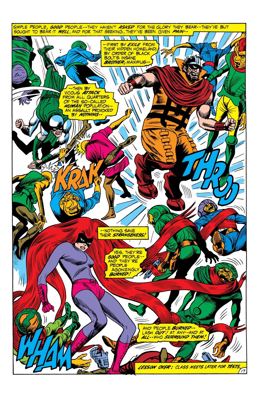 Read online Marvel Masterworks: The Inhumans comic -  Issue # TPB 1 (Part 2) - 74