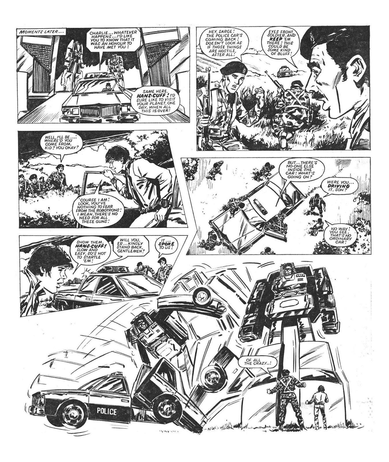 Read online Robo Machines comic -  Issue # TPB - 37