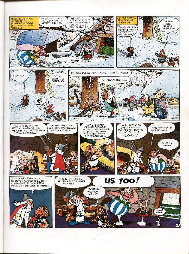 Read online Asterix comic -  Issue #6 - 4