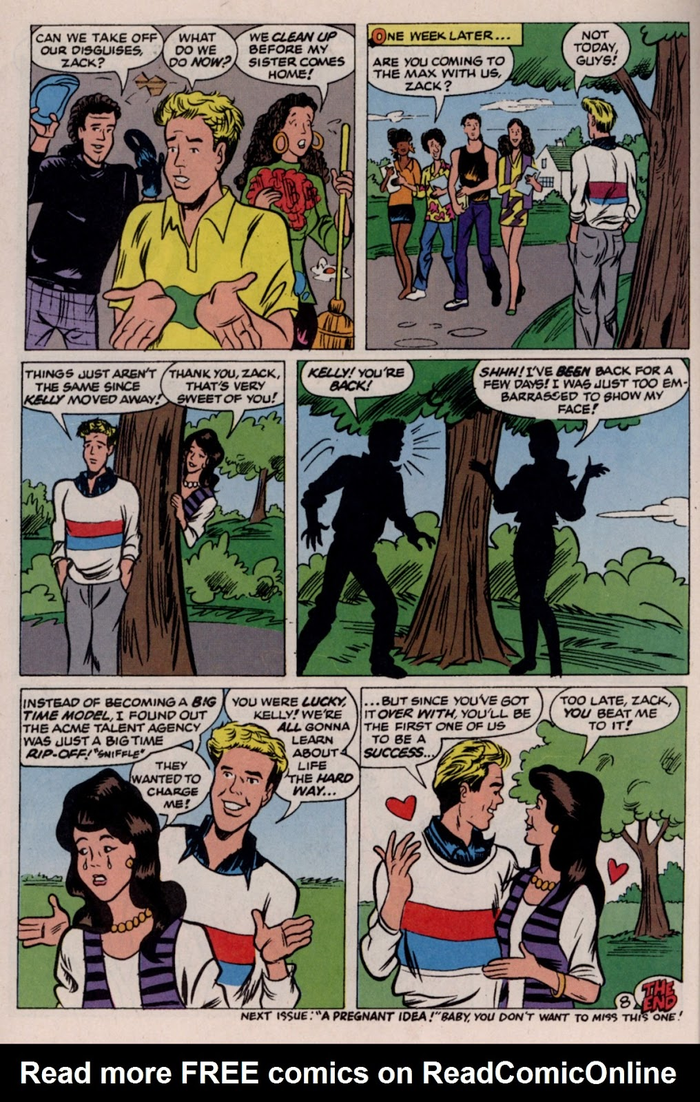 Read online Saved By The Bell comic -  Issue #2 - 31