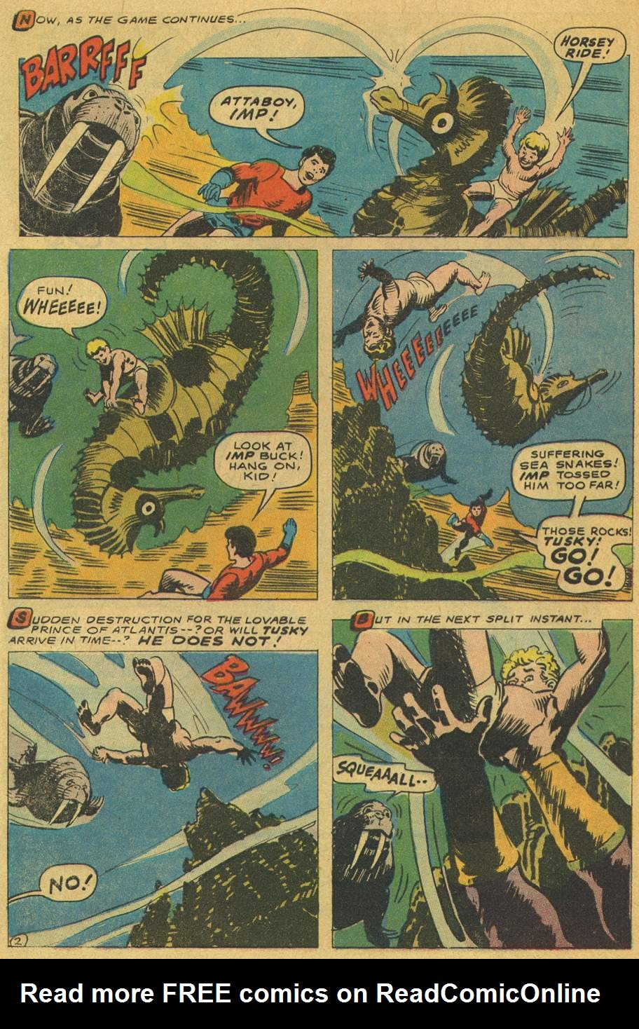 Read online Aquaman (1962) comic -  Issue #37 - 4