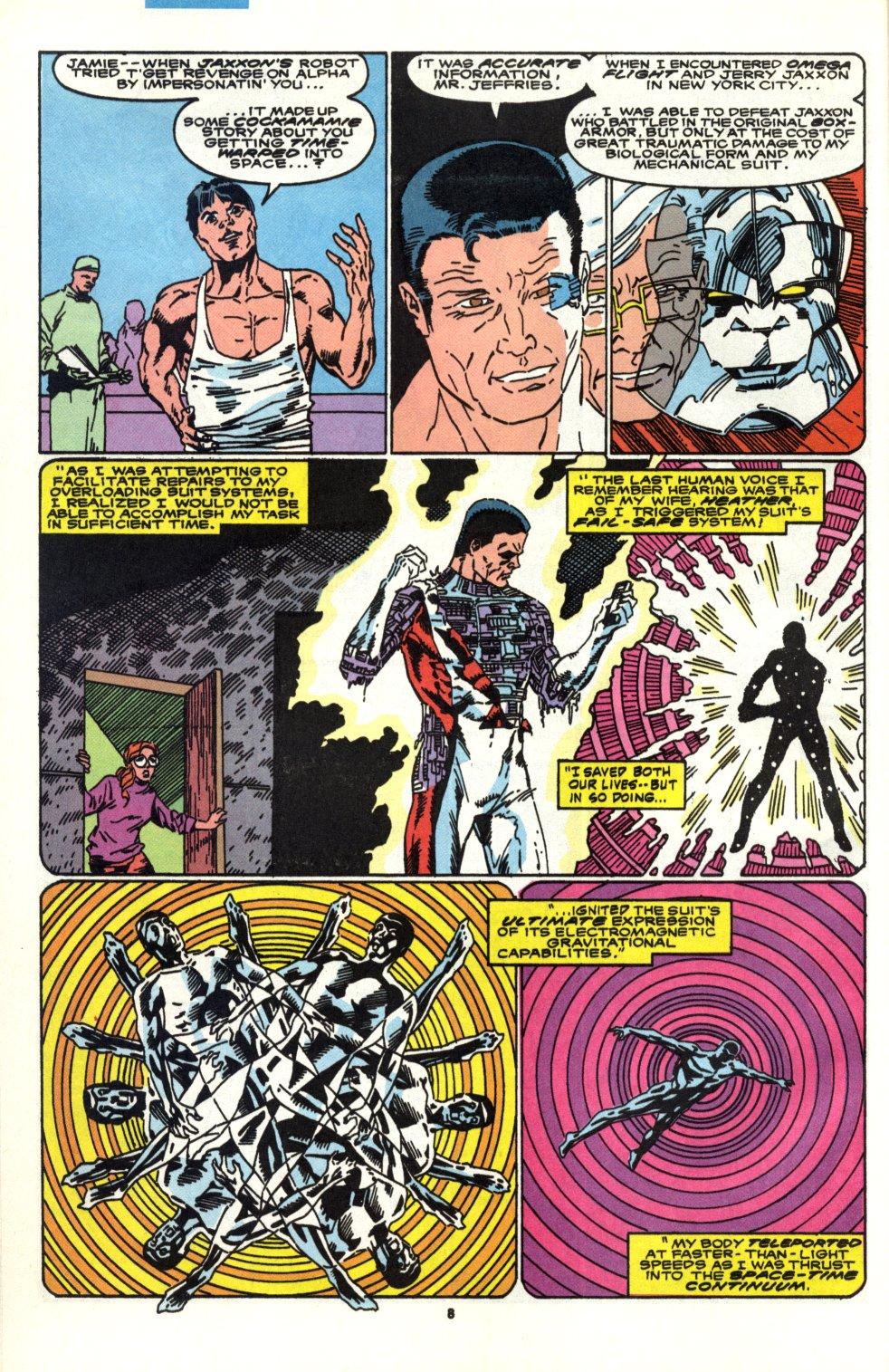 Read online Alpha Flight (1983) comic -  Issue #90 - 7
