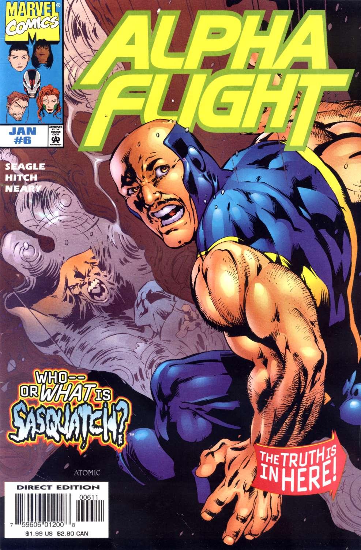 Alpha Flight (1997) 6 Page 1
