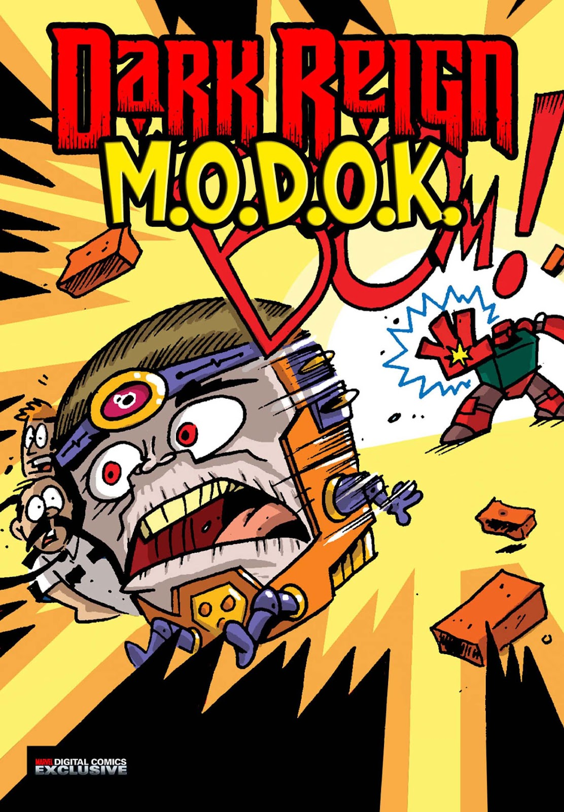 Dark Reign: M.O.D.O.K. issue 4 - Page 1
