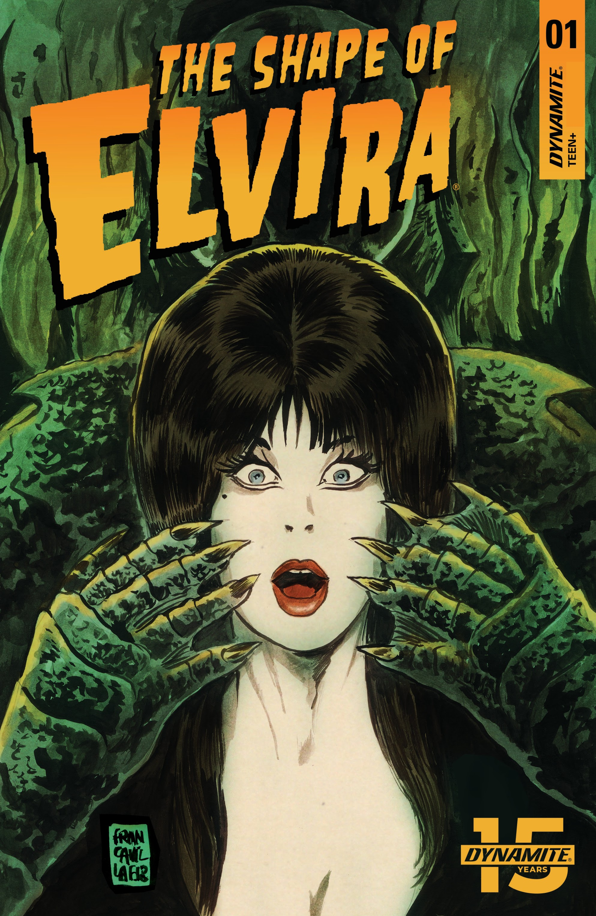 Elvira: The Shape of Elvira 1 Page 1
