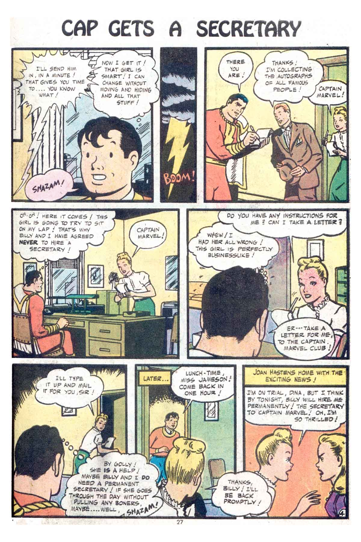 Read online Shazam! (1973) comic -  Issue #13 - 28