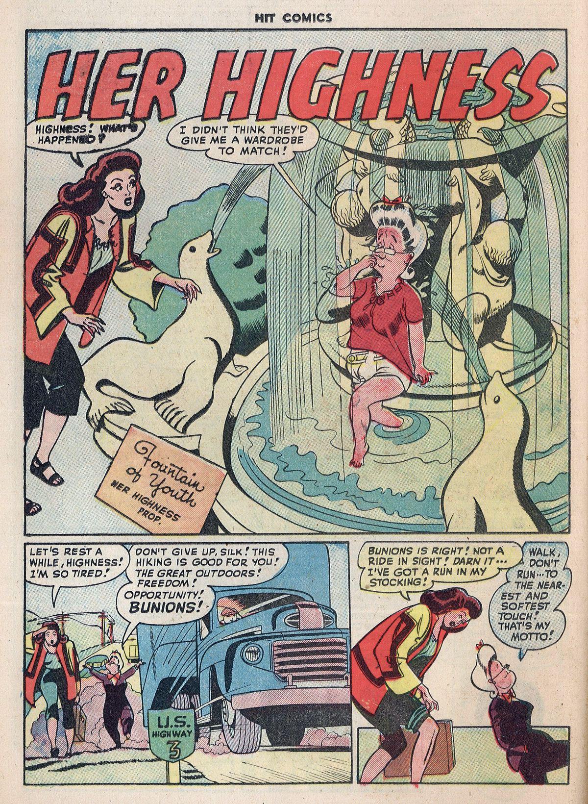 Read online Hit Comics comic -  Issue #55 - 16
