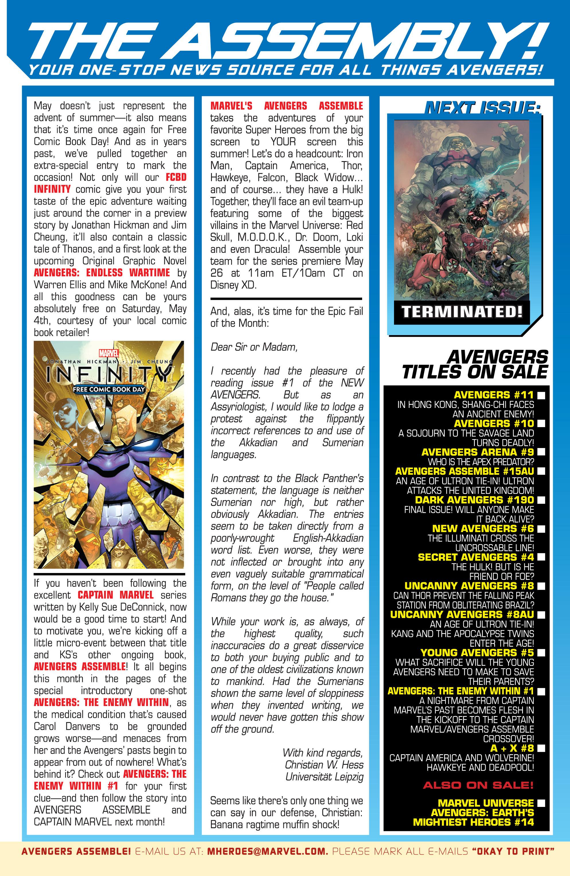 Read online Avengers (2013) comic -  Issue #Avengers (2013) _TPB 3 - 27