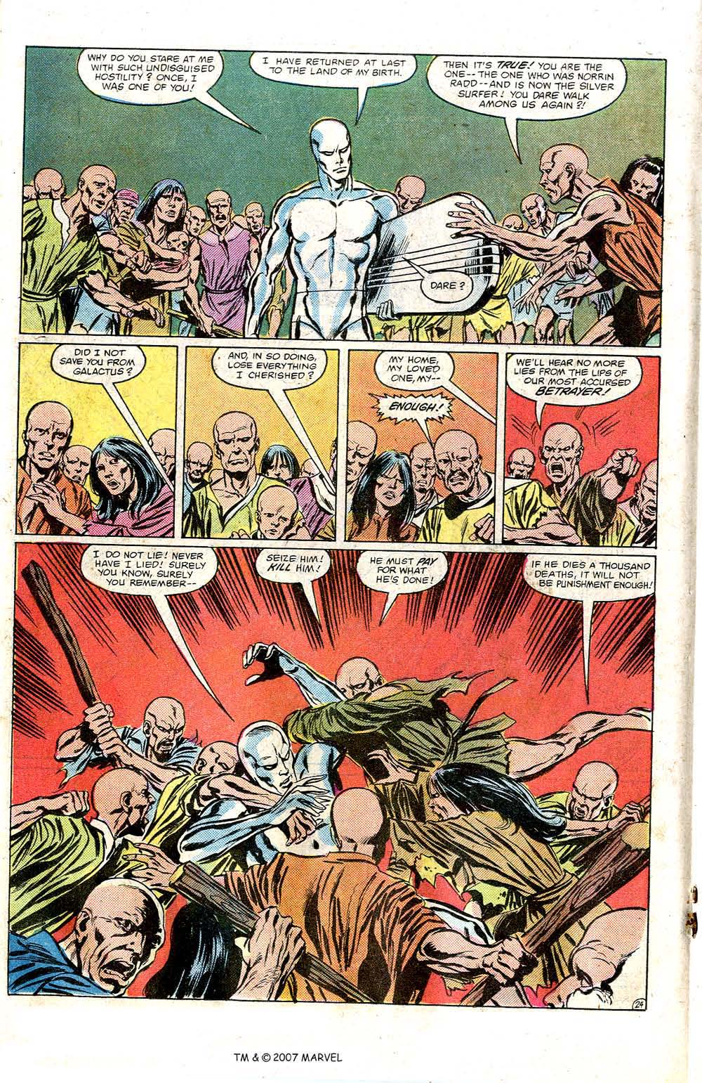 Read online Silver Surfer (1982) comic -  Issue # Full - 26