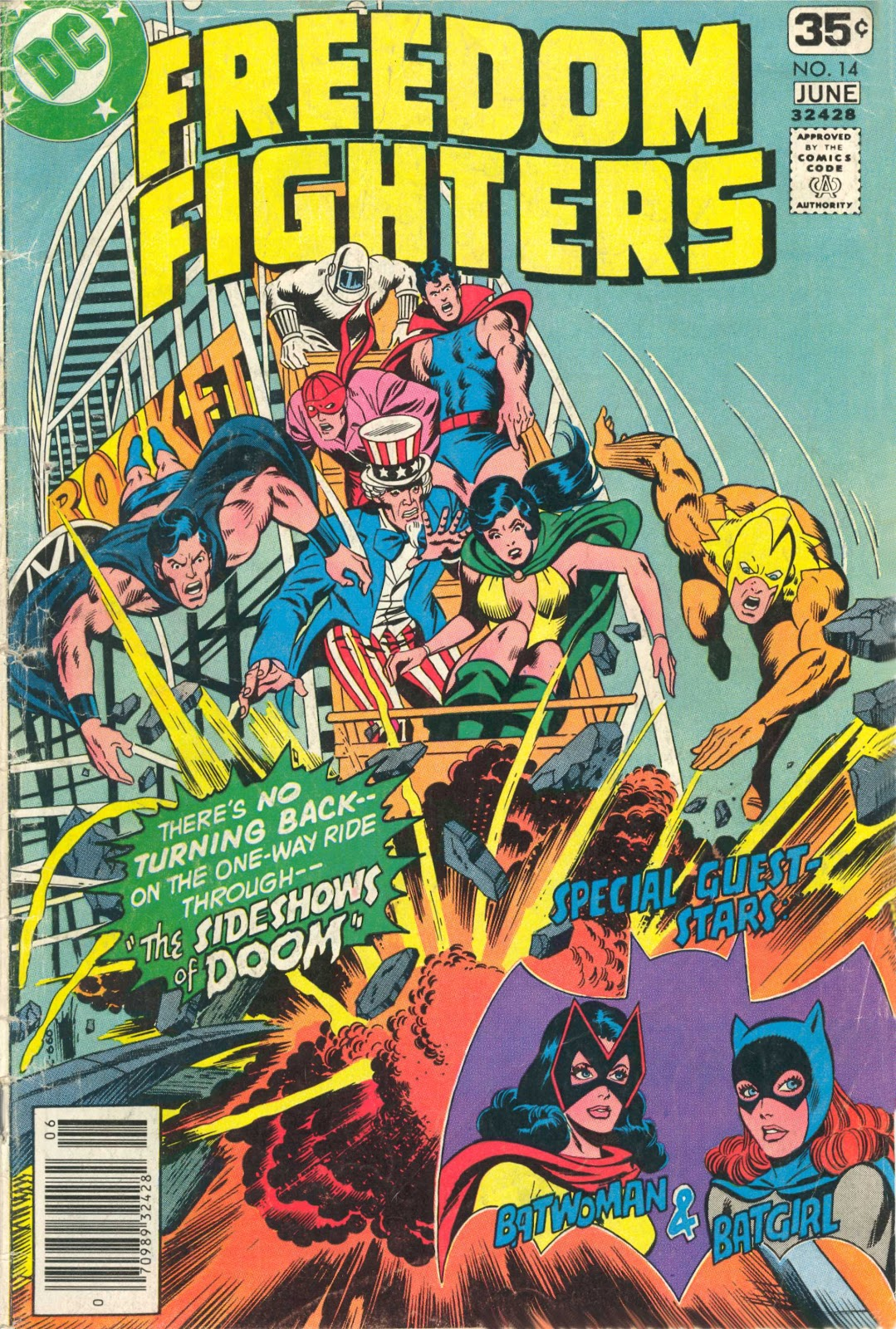 Freedom Fighters (1976) issue 14 - Page 1