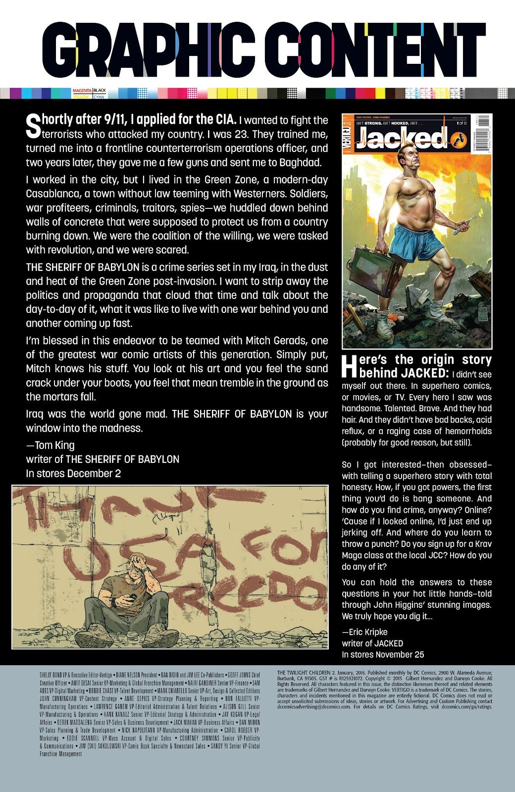 Read online The Twilight Children comic -  Issue #2 - 33