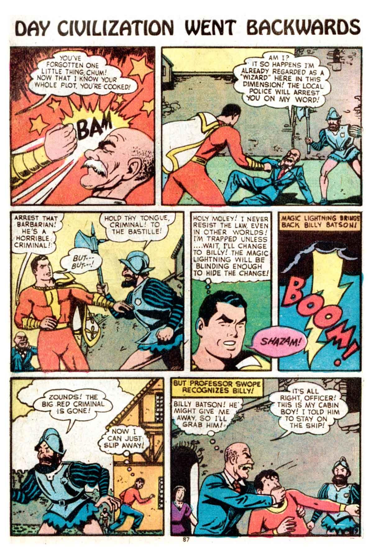 Read online Shazam! (1973) comic -  Issue #15 - 87