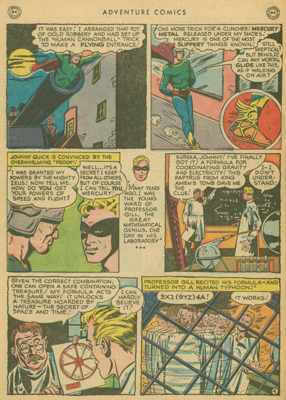 Read online Adventure Comics (1938) comic -  Issue #142 - 43