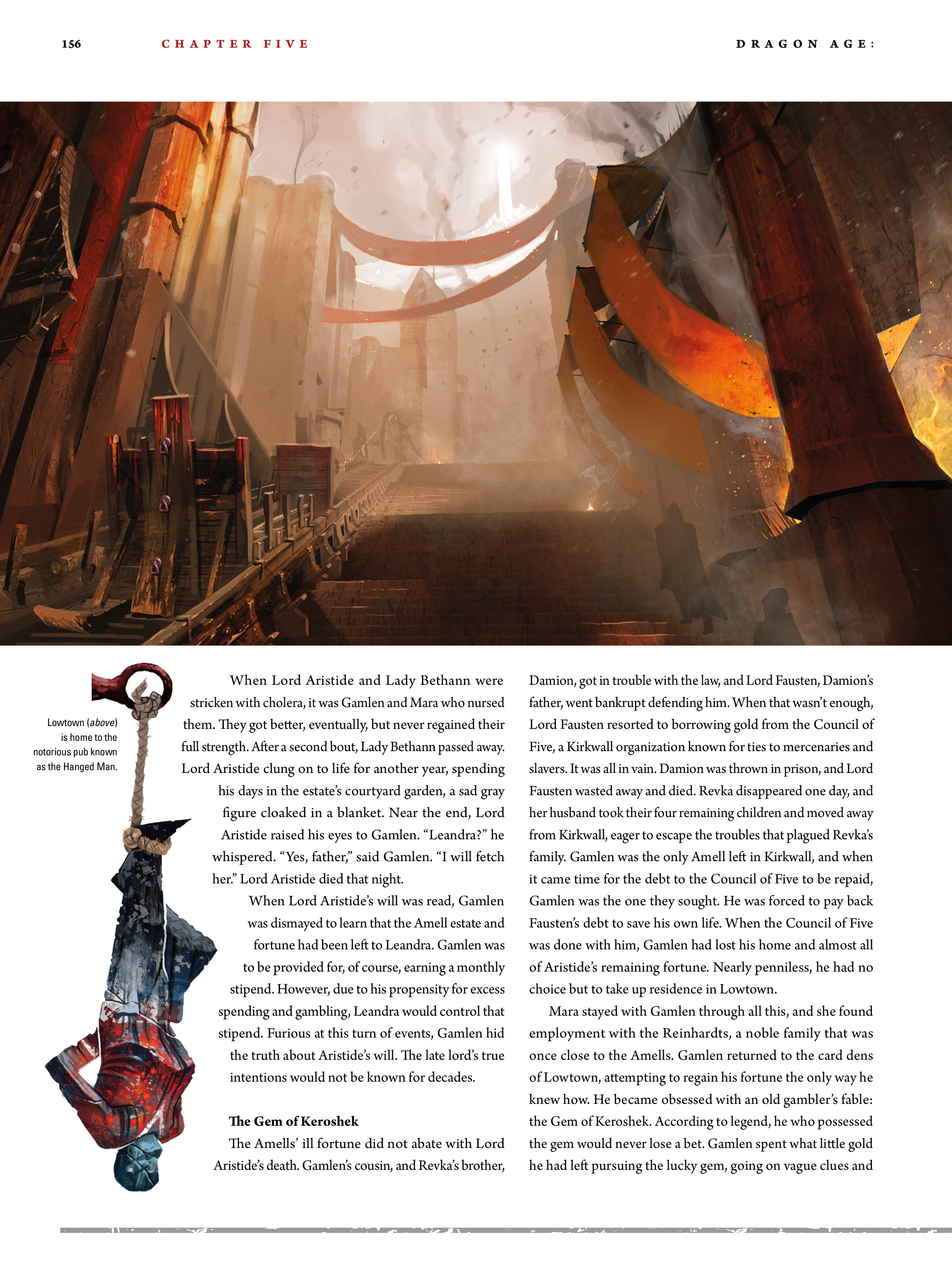 Read online Dragon Age: The World of Thedas comic -  Issue # TPB 2 - 152
