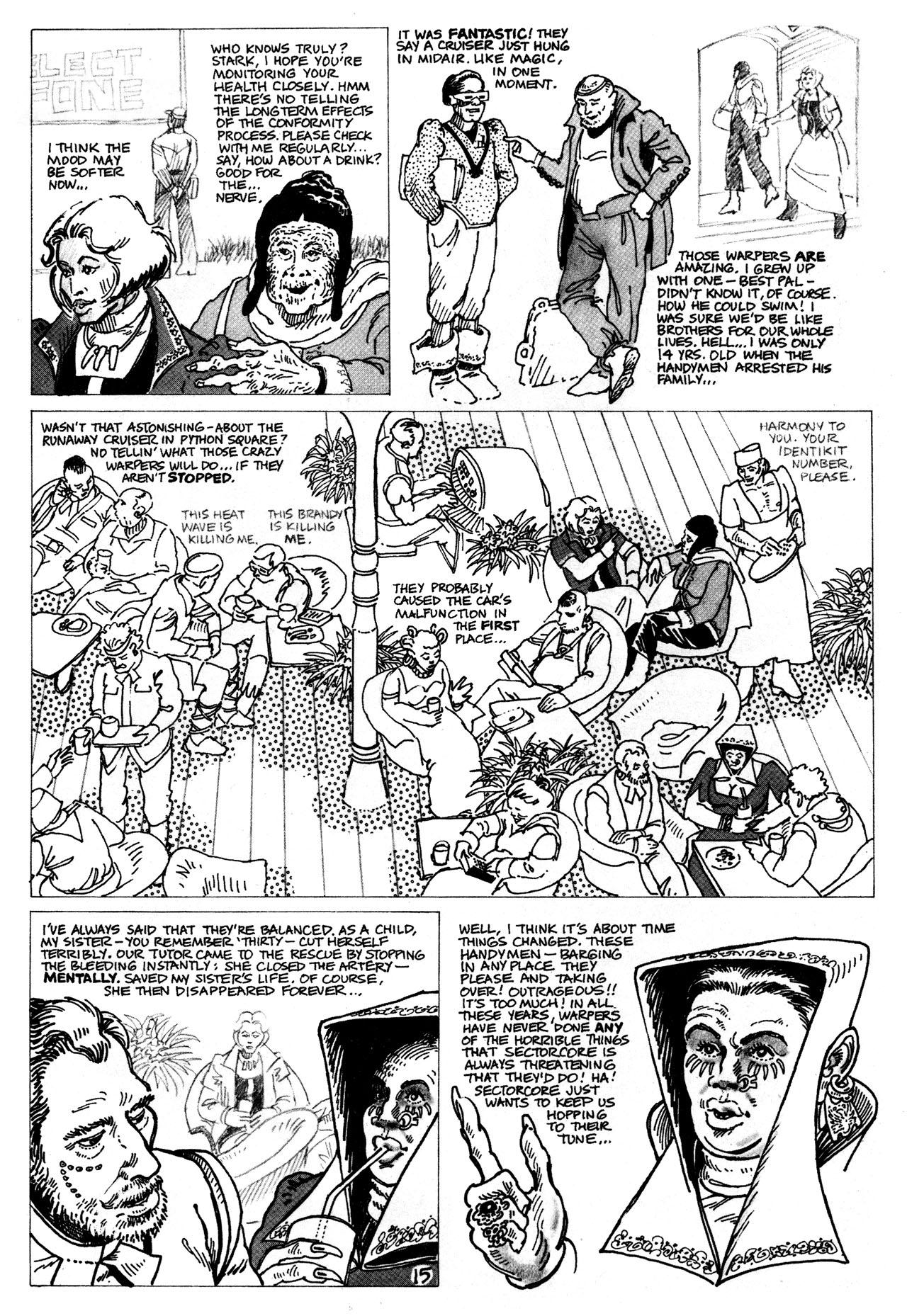 Read online Star*Reach comic -  Issue #16 - 17