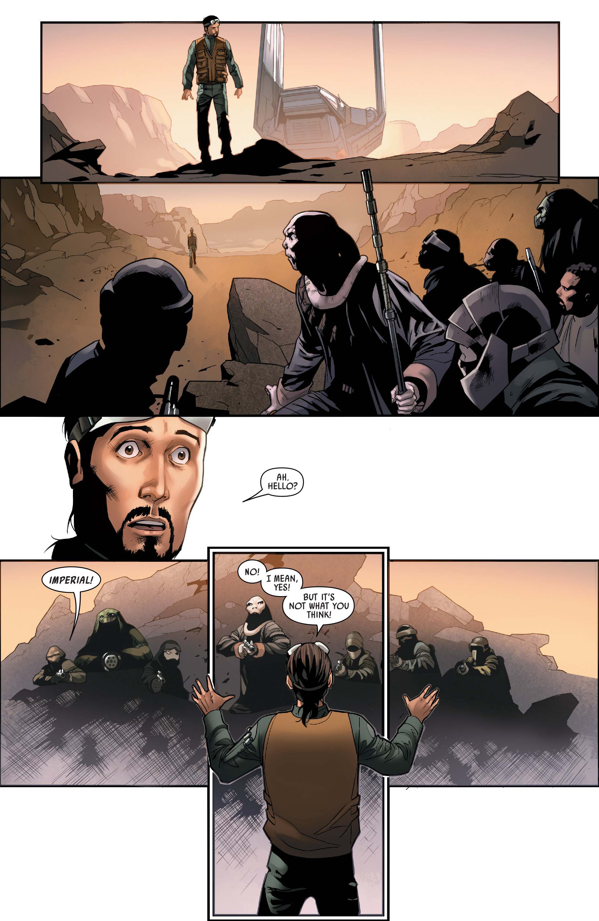 Read online Star Wars: Rogue One Adaptation comic -  Issue #1 - 9