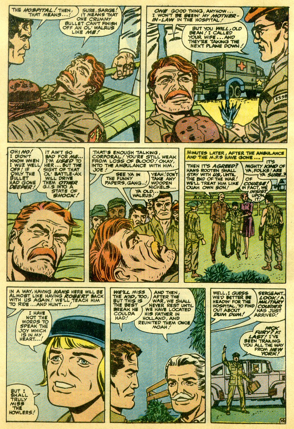 Read online Sgt. Fury comic -  Issue #82 - 29