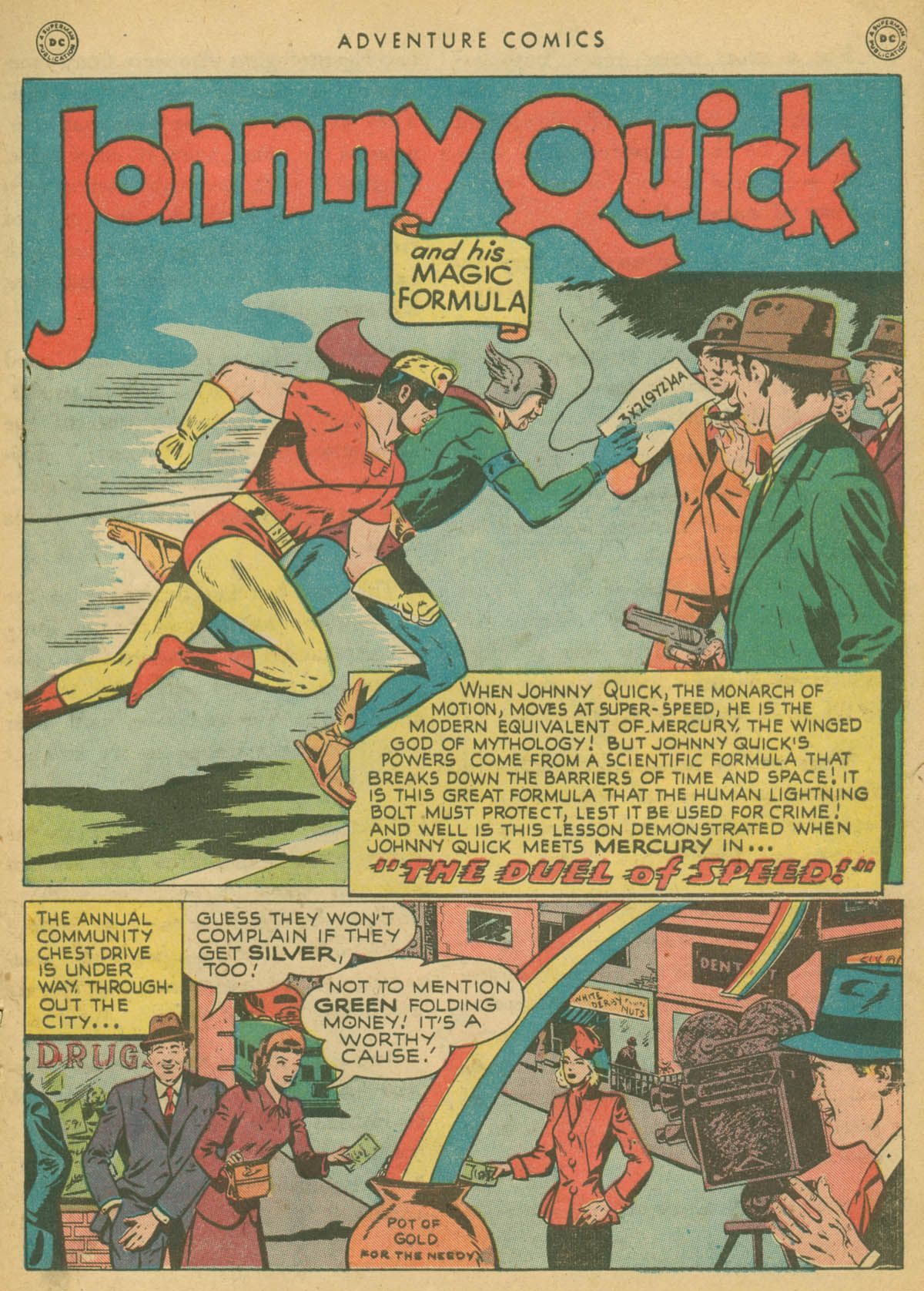 Read online Adventure Comics (1938) comic -  Issue #142 - 40