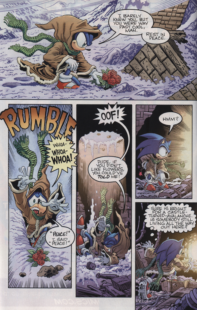 Read online Sonic the Hedgehog Free Comic Book Day Edition comic -  Issue # Special 5 - 8