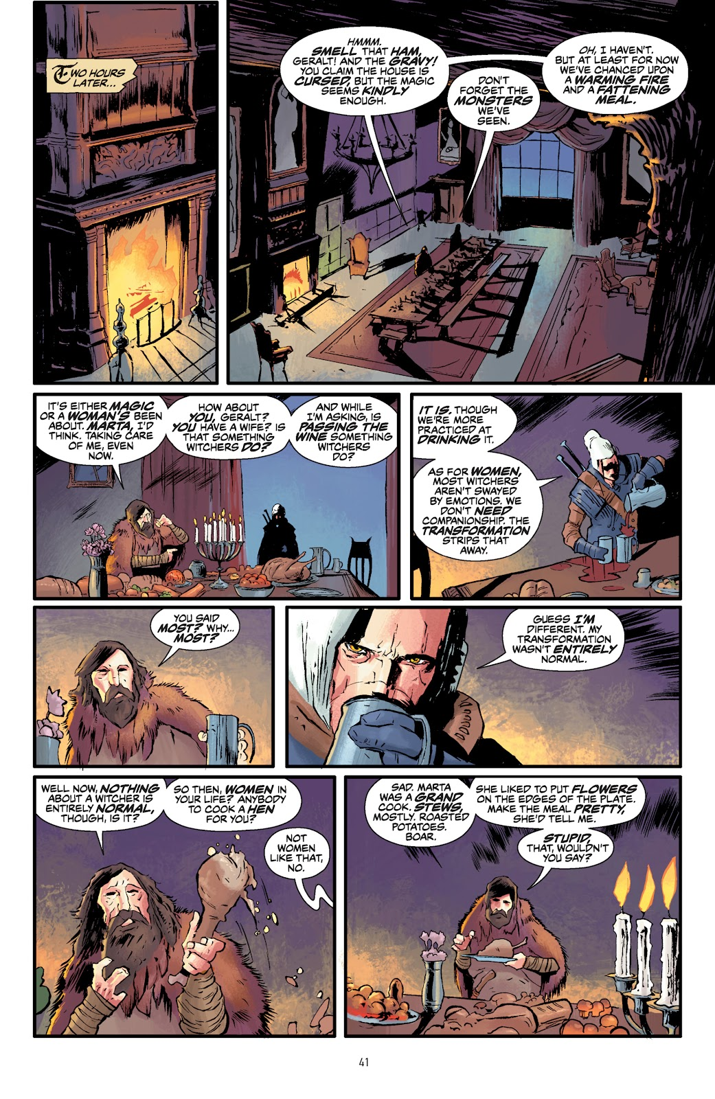 Read online The Witcher Omnibus comic -  Issue # TPB (Part 1) - 41