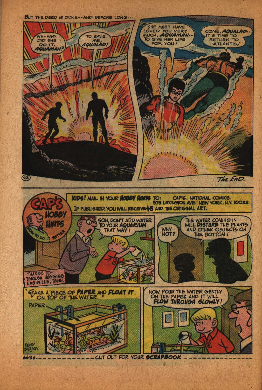 Read online Aquaman (1962) comic -  Issue #39 - 33