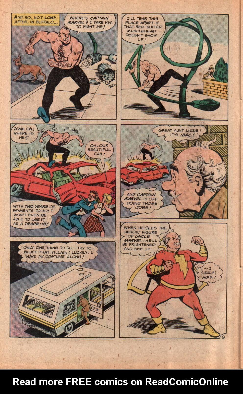 Read online Shazam! (1973) comic -  Issue #29 - 10