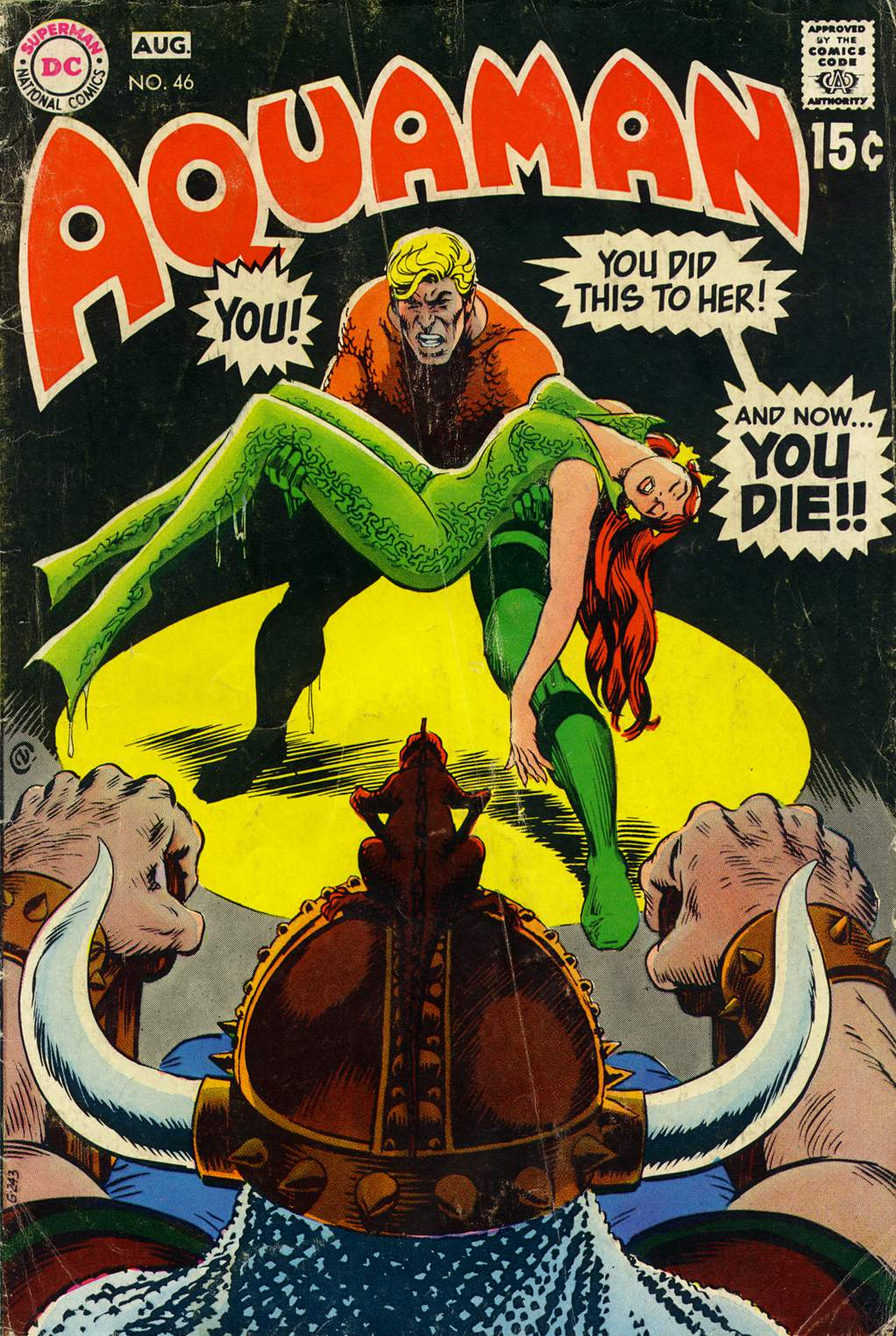 Read online Aquaman (1962) comic -  Issue #46 - 1