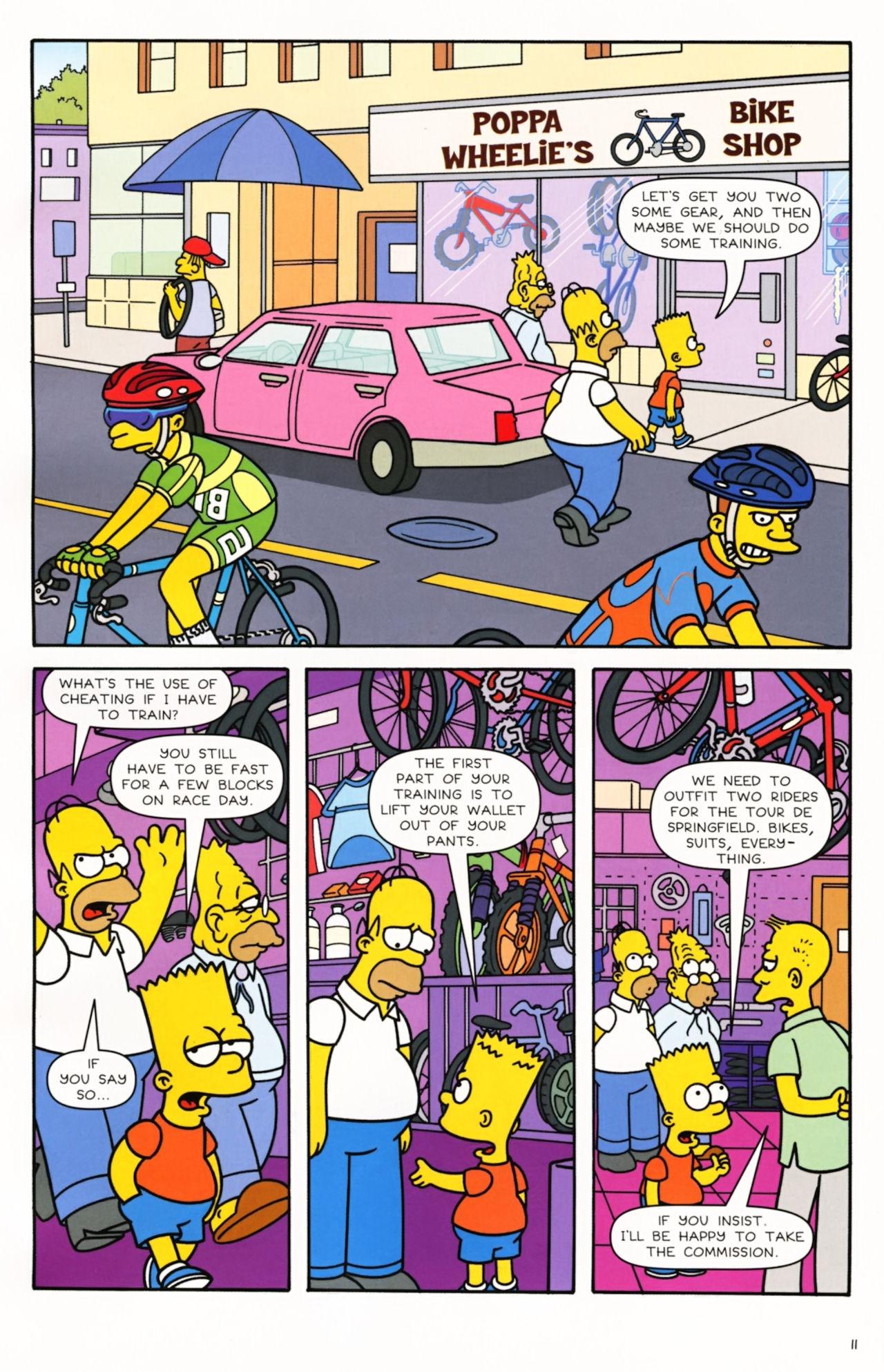 Read online Simpsons Comics comic -  Issue #166 - 10