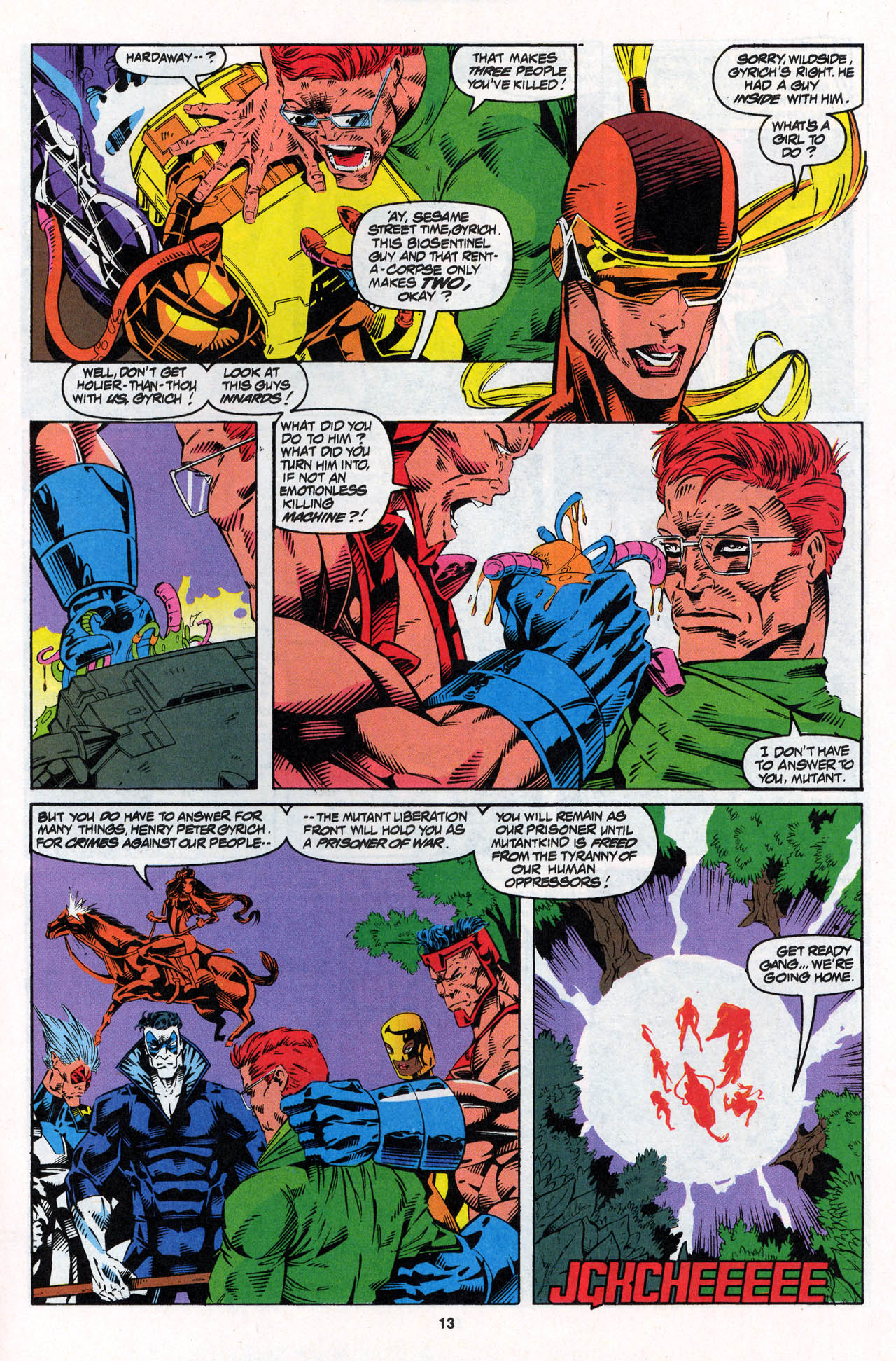 Read online X-Force (1991) comic -  Issue #27 - 14