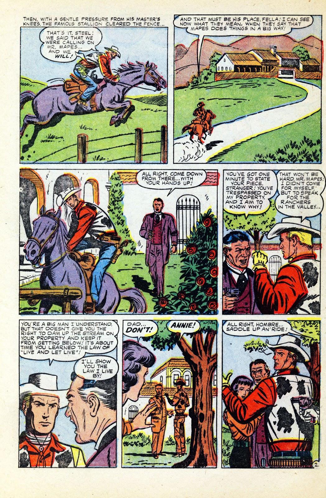 Gunsmoke Western issue 32 - Page 4