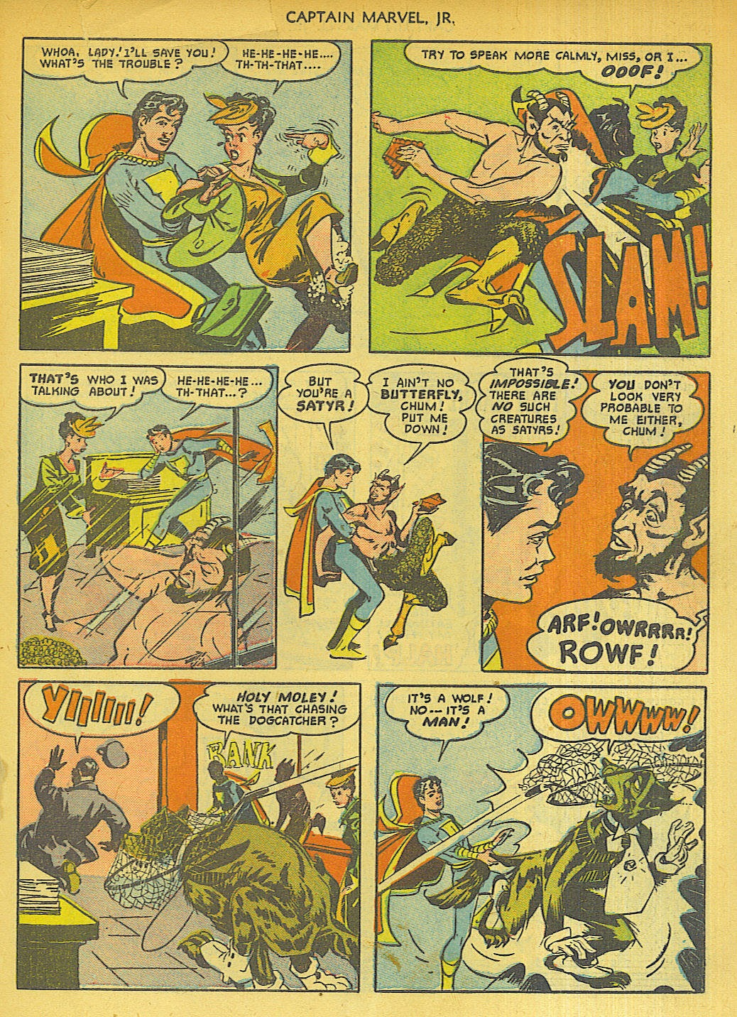 Captain Marvel, Jr. issue 96 - Page 19