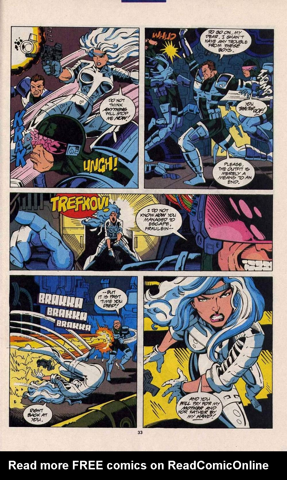 Read online Silver Sable and the Wild Pack comic -  Issue #25 - 26
