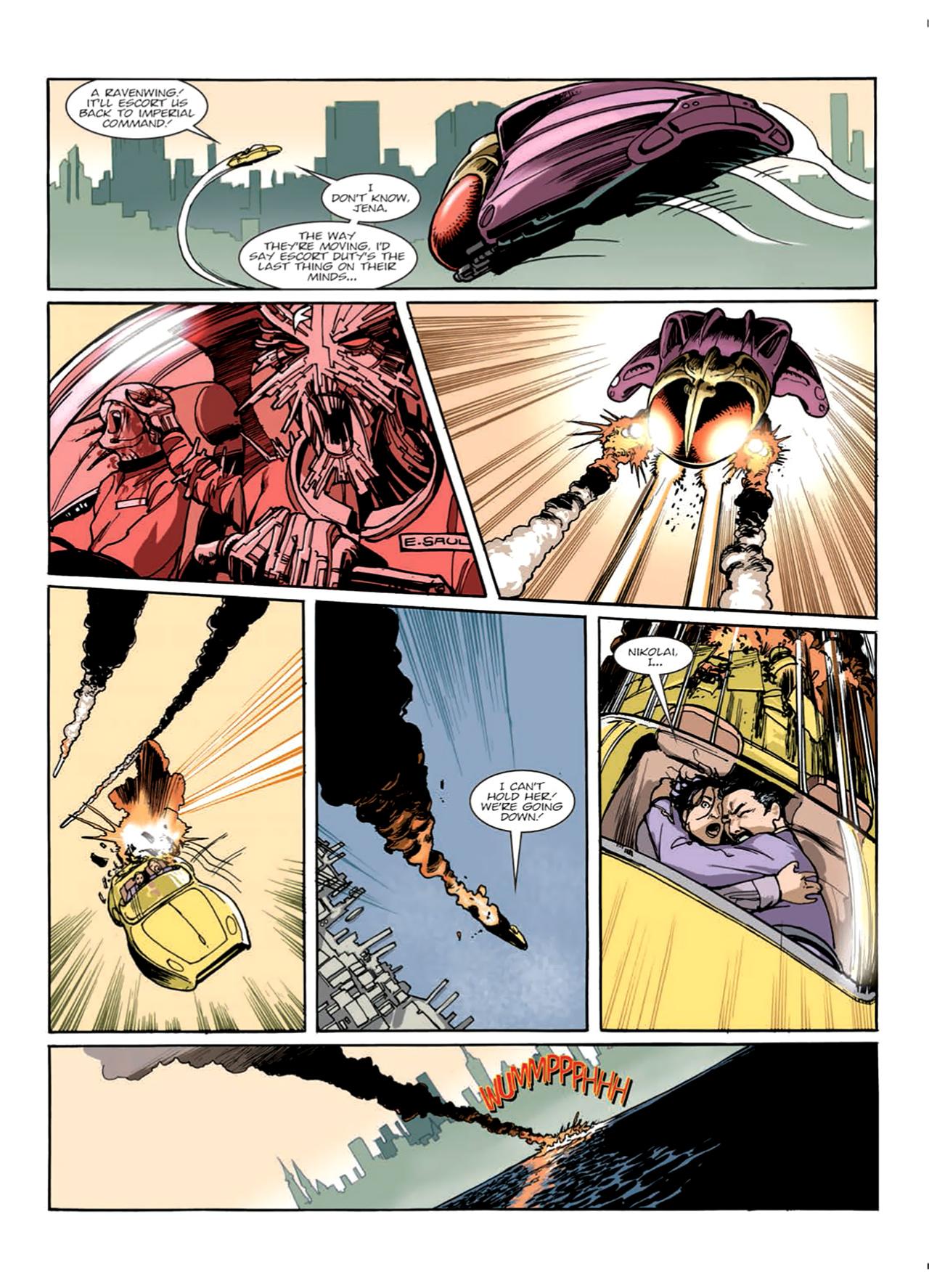 Read online Nikolai Dante comic -  Issue # TPB 9 - 53