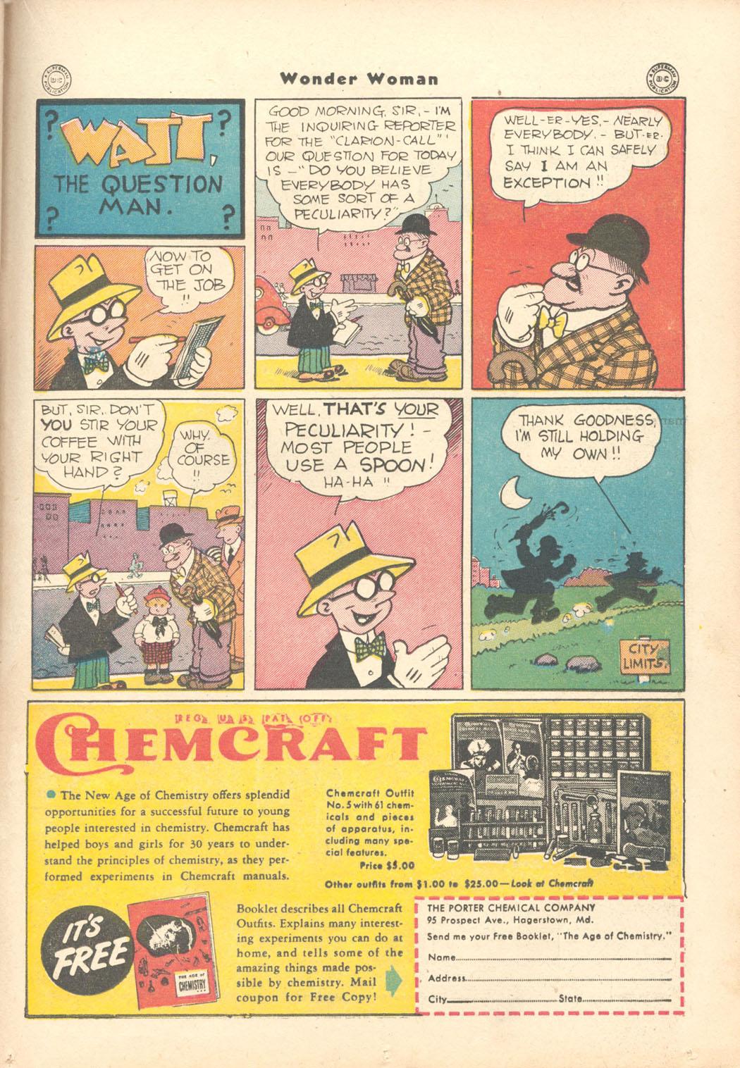 Read online Wonder Woman (1942) comic -  Issue #15 - 33