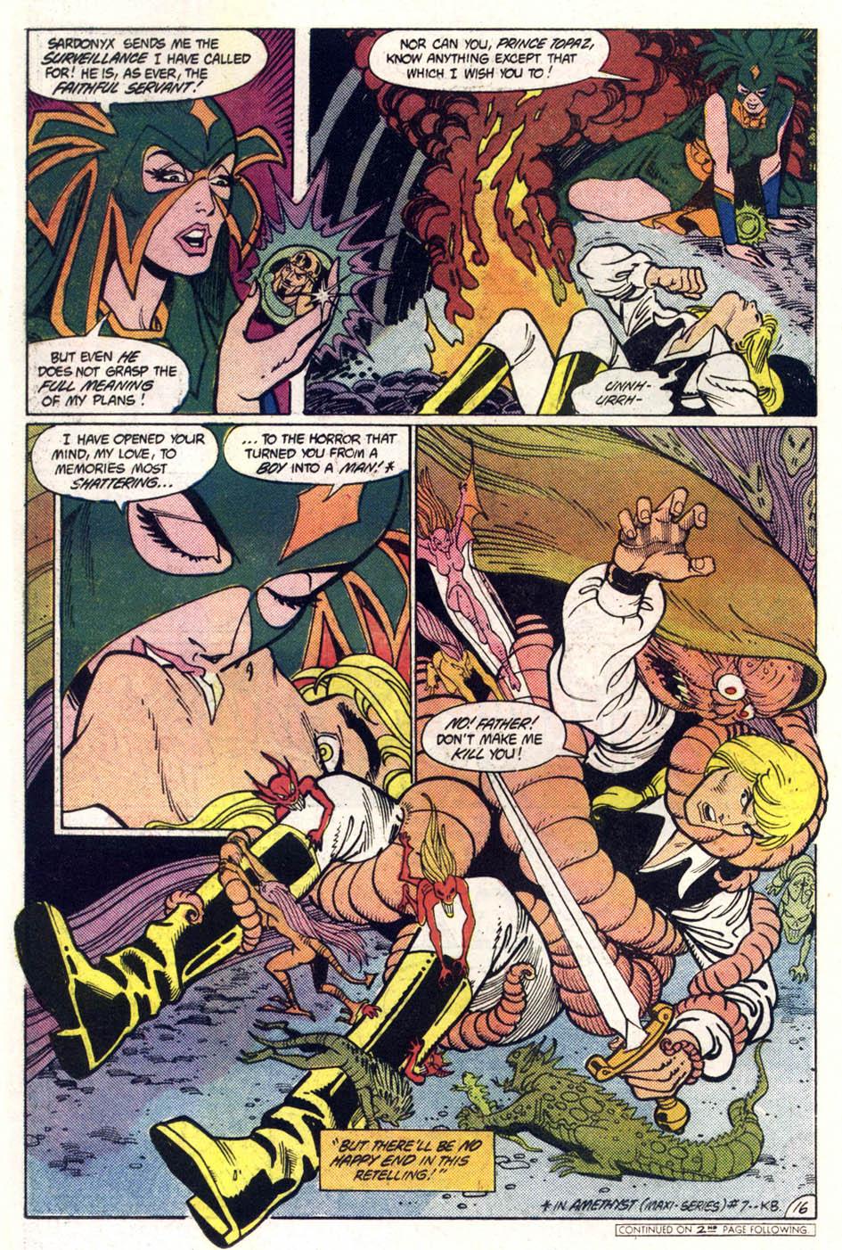 Read online Amethyst (1985) comic -  Issue #1 - 17