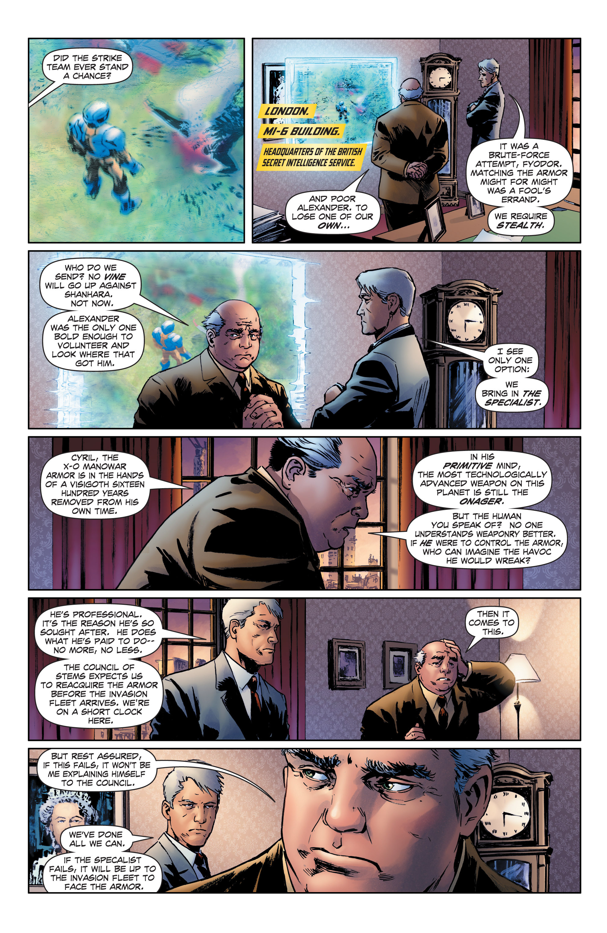 Read online Archer and Armstrong comic -  Issue #1 - 28
