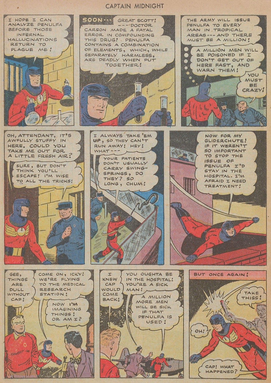 Captain Midnight (1942) issue 29 - Page 28